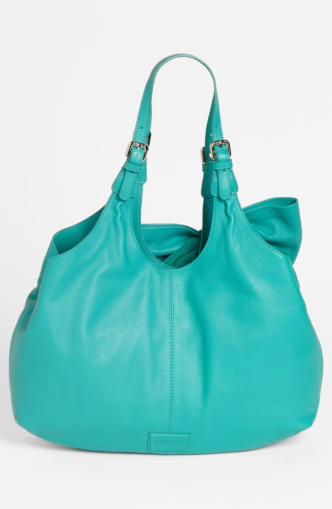 'Bow' Leather Hobo,                             Alternate thumbnail 12, color,