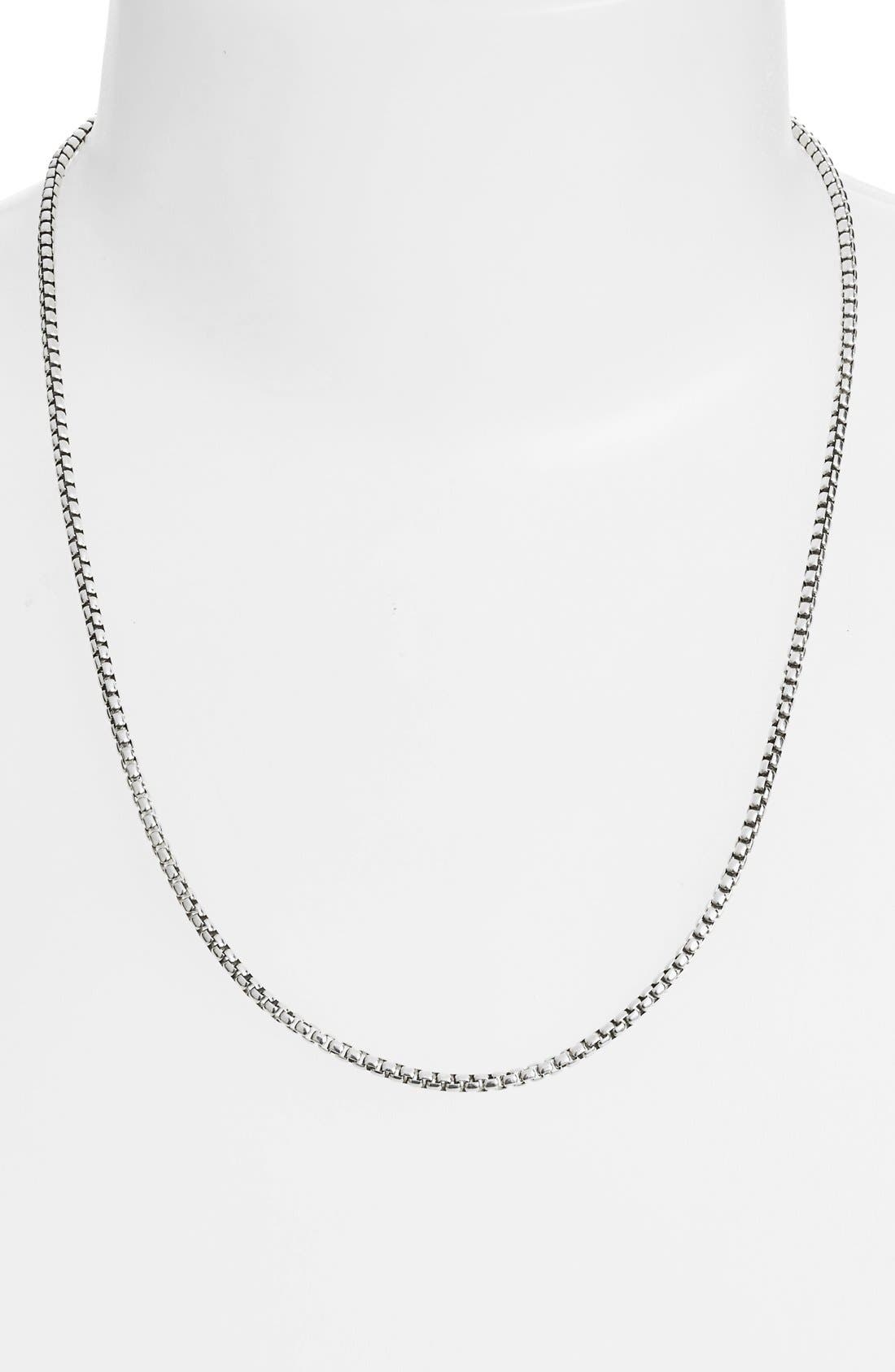 'Legends' Box Chain Necklace,                             Alternate thumbnail 2, color,                             040
