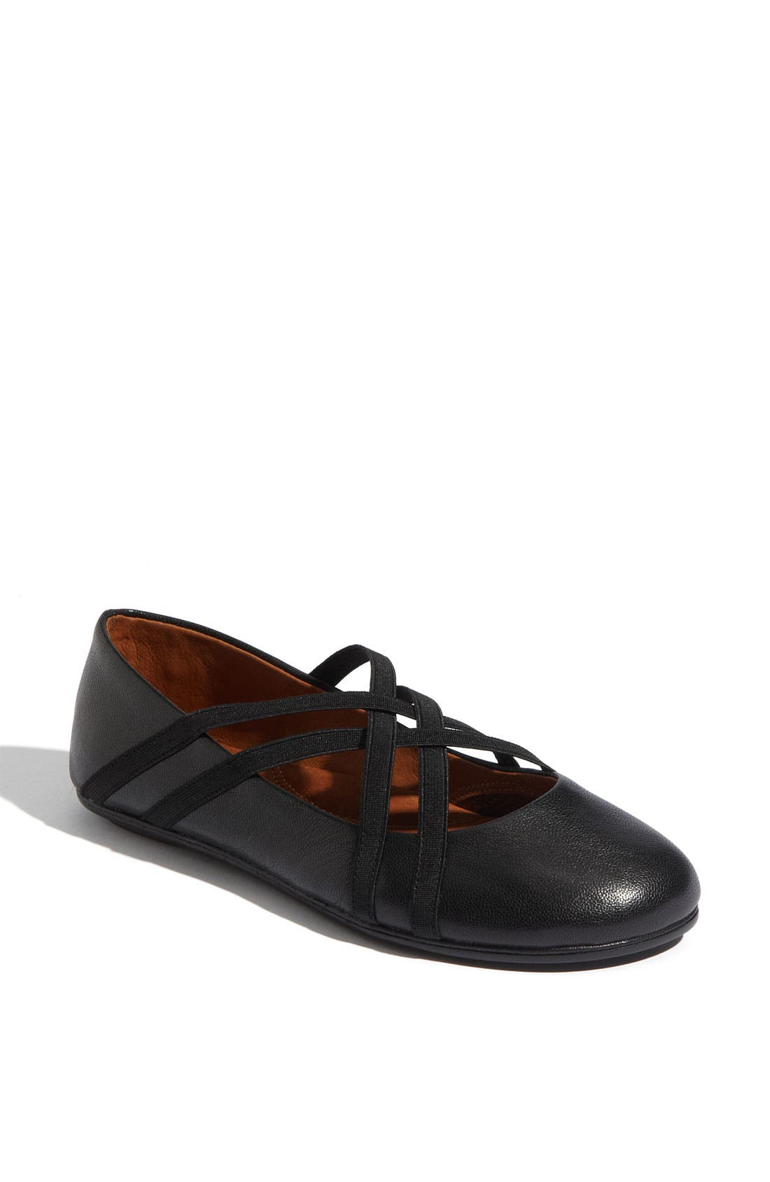 by Kenneth Cole 'Bay Braid' Flat,                         Main,                         color, BLACK