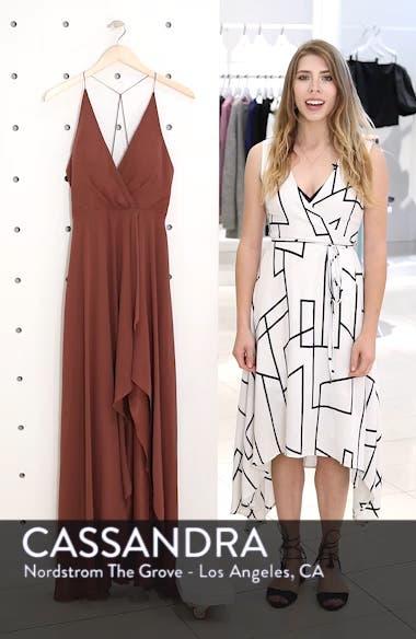Farrah Ruffle Chiffon Gown, sales video thumbnail