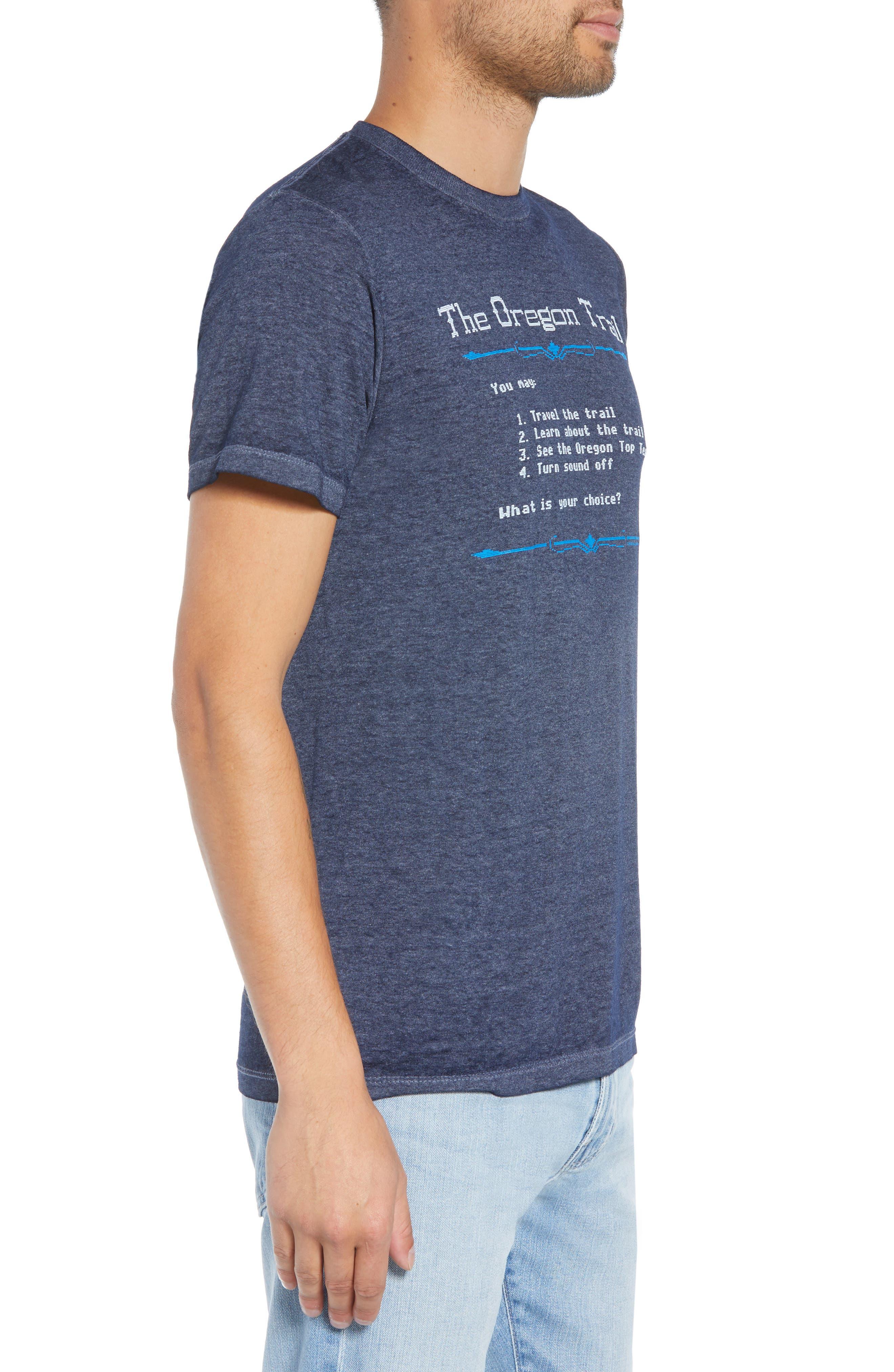Oregon Trail T-Shirt,                             Alternate thumbnail 3, color,                             001