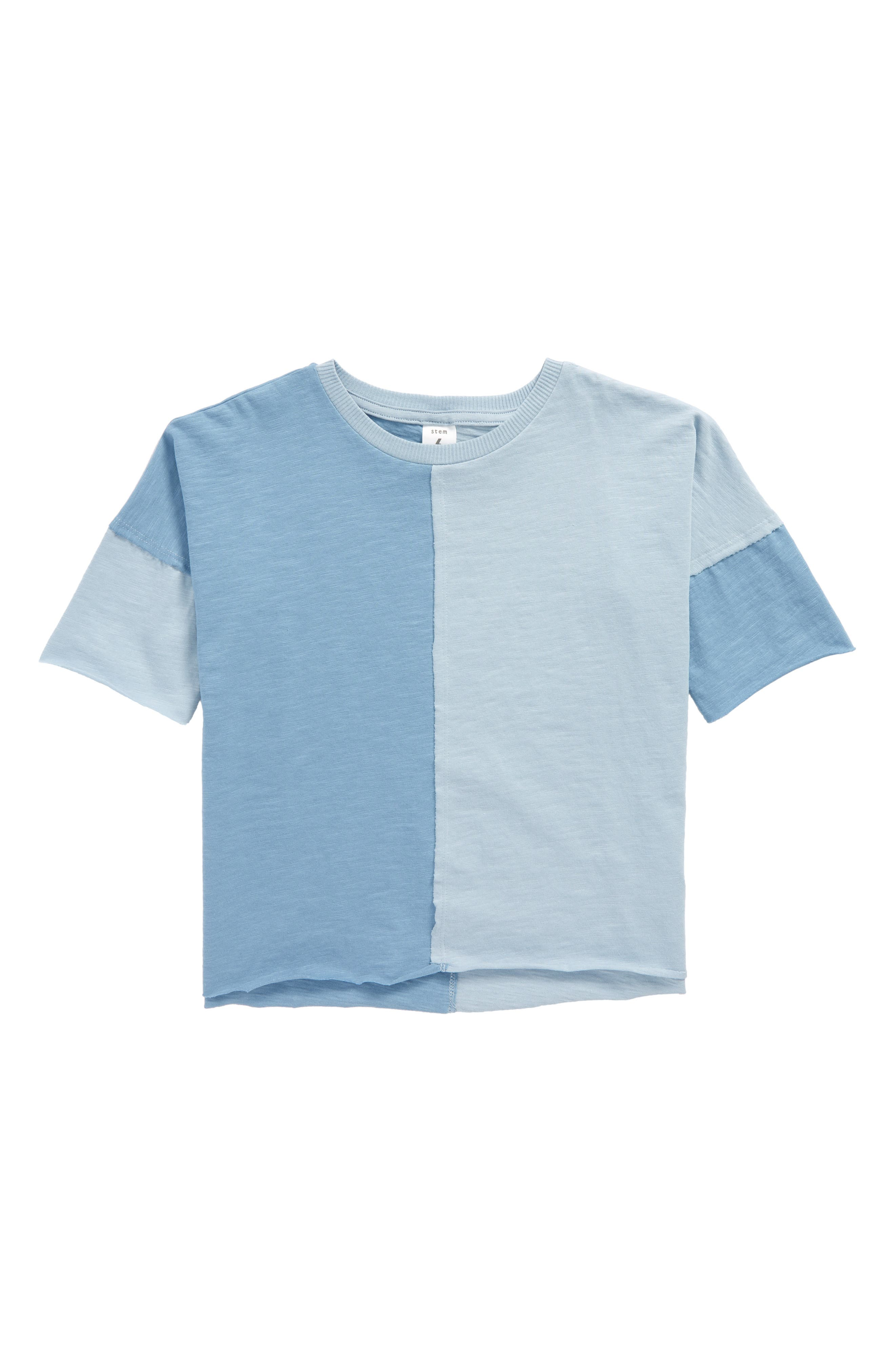 Two-Tone T-Shirt,                             Main thumbnail 1, color,