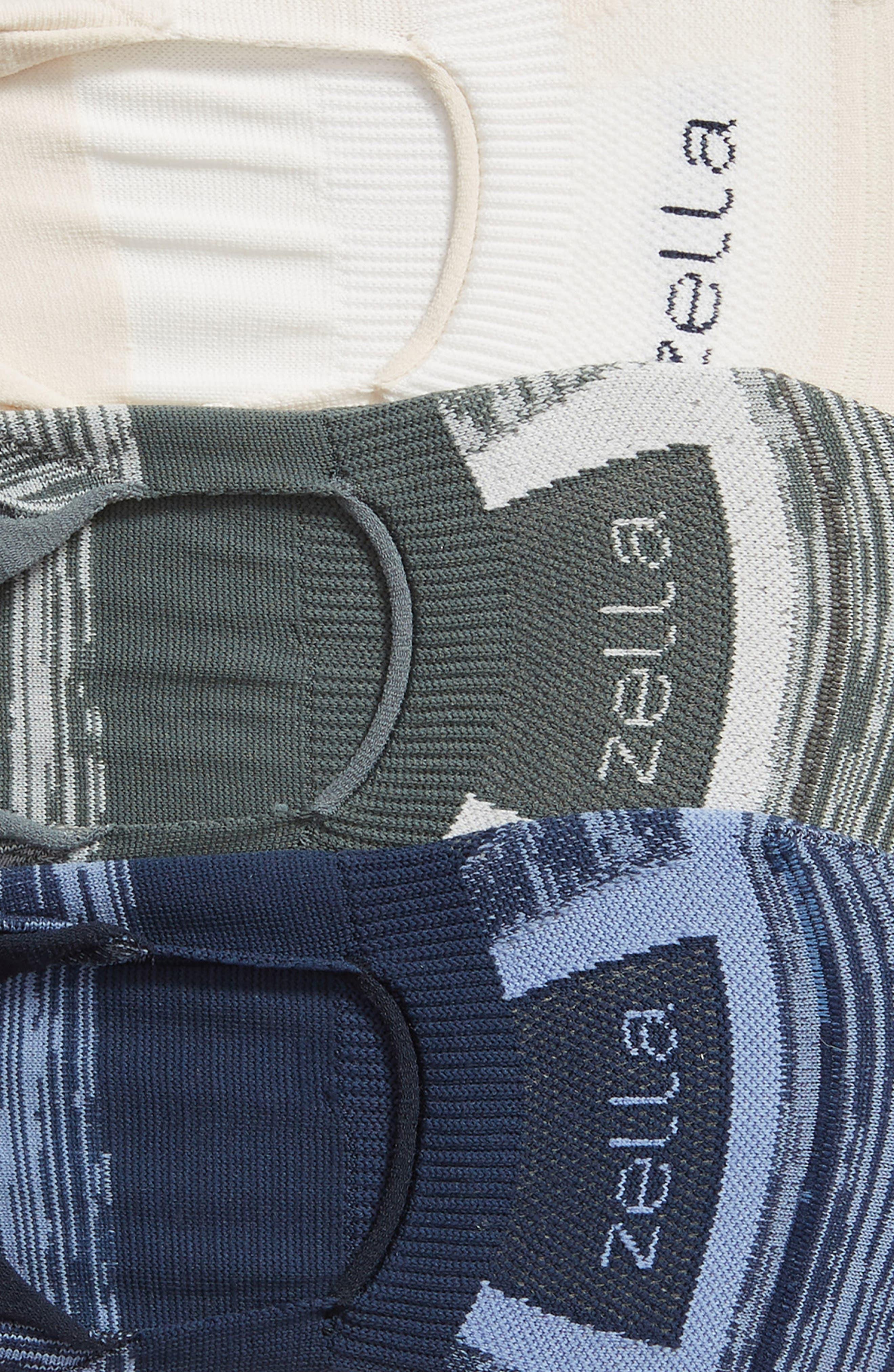 3-Pack Low Profile Socks,                             Alternate thumbnail 2, color,                             GREY URBAN