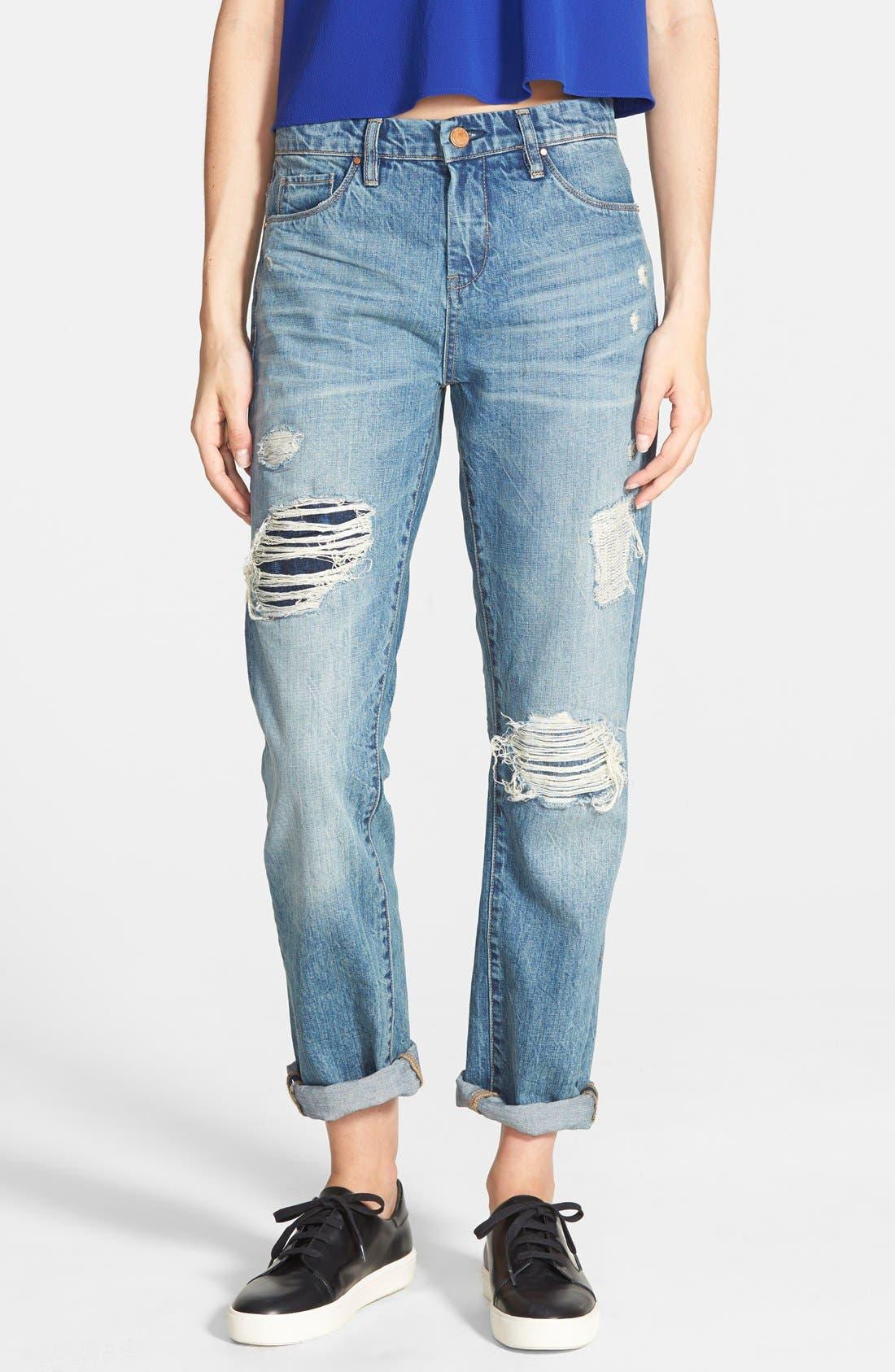 Boyfriend Jeans,                         Main,                         color, 400