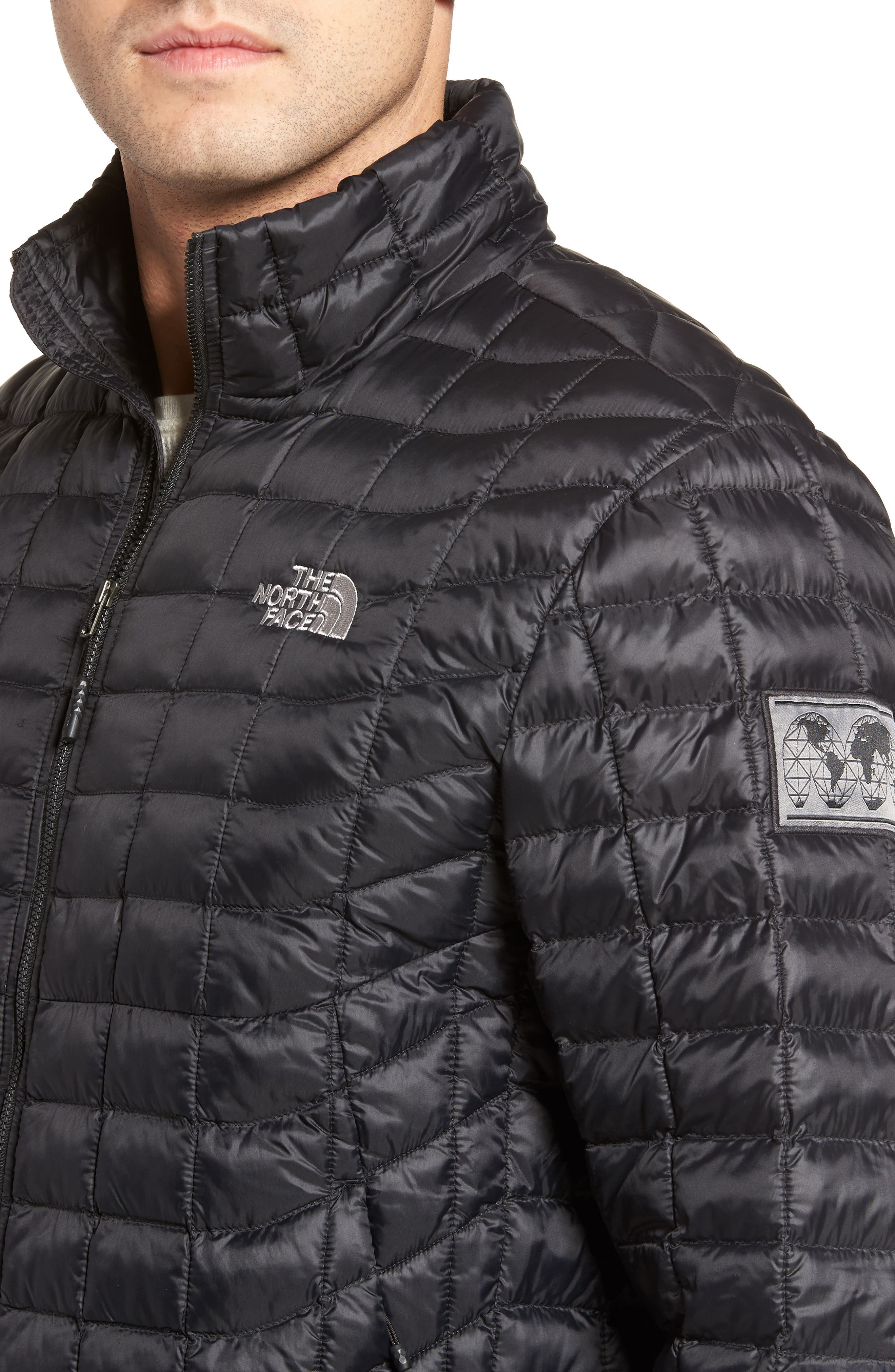 International Collection ThermoBall PrimaLoft<sup>®</sup> Jacket,                             Alternate thumbnail 4, color,                             001