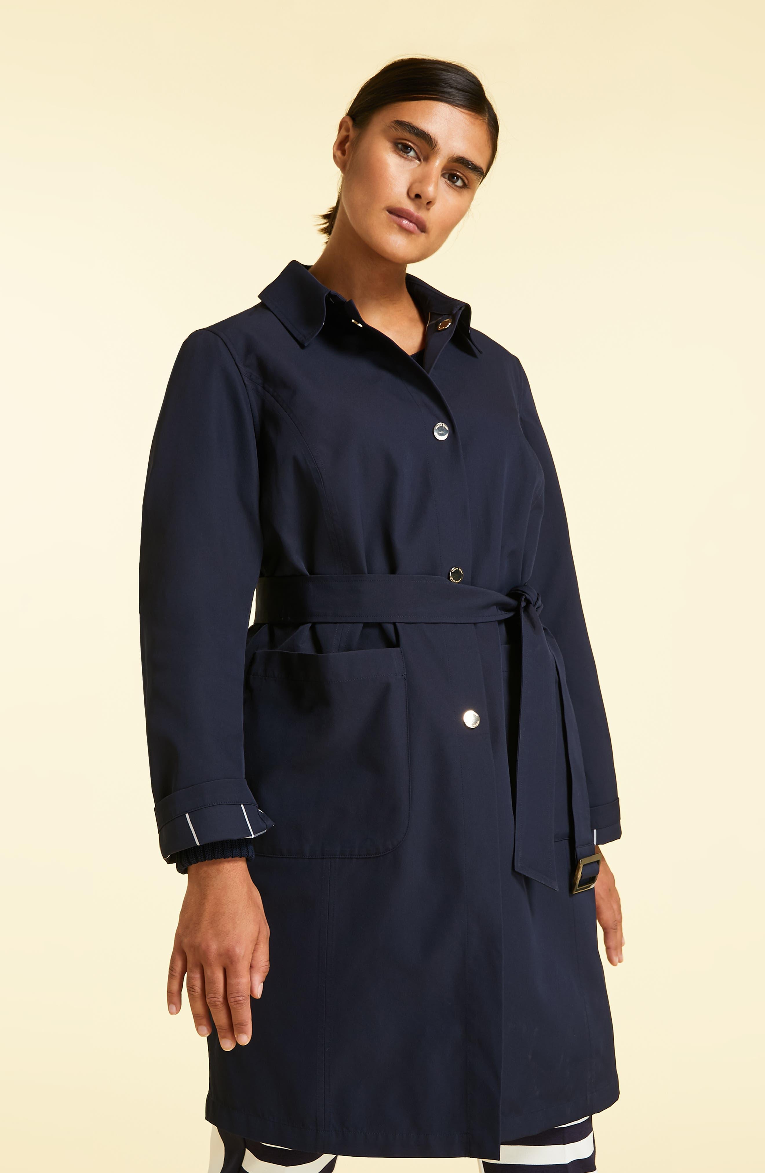 Tabella Reversible Raincoat,                             Alternate thumbnail 8, color,                             NAVY BLUE