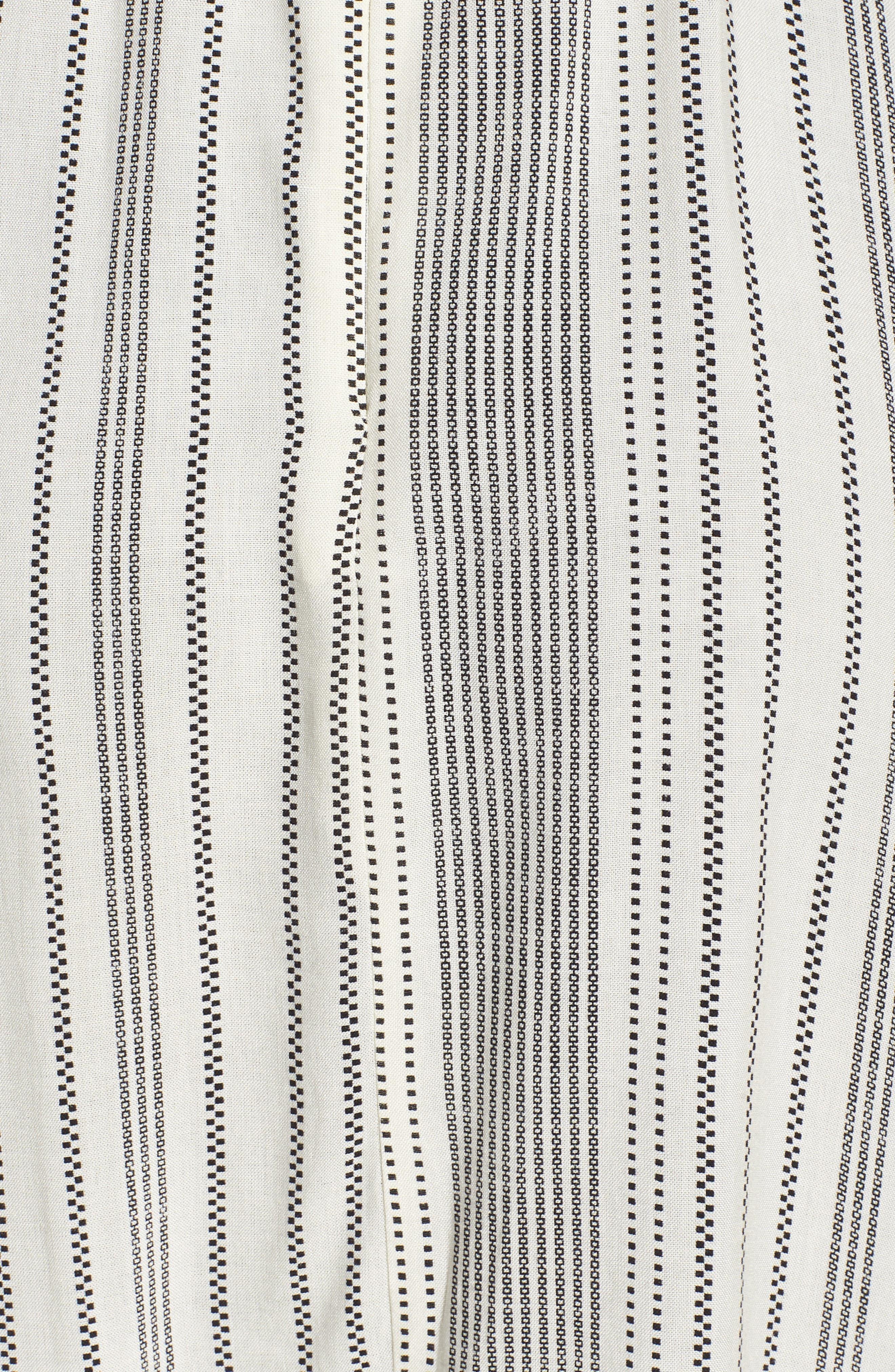 Stripe Strappy Swing Dress,                             Alternate thumbnail 6, color,                             900