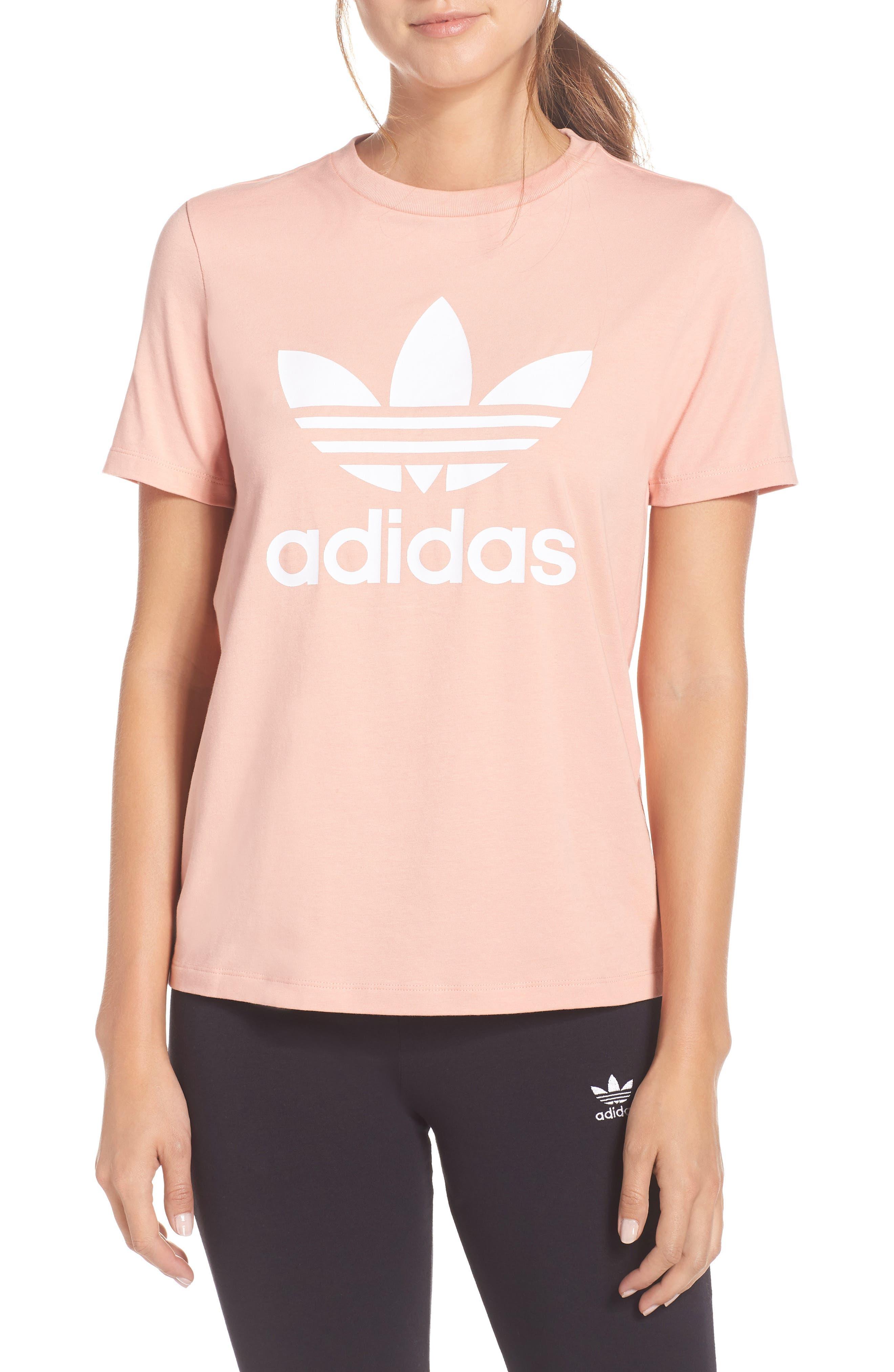 Adidas Trefoil Tee, Pink