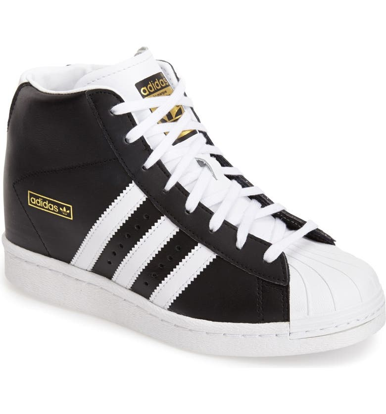 cb96dbbf771b adidas  Superstar Up  Hidden Wedge Leather Sneaker (Women)   Nordstrom