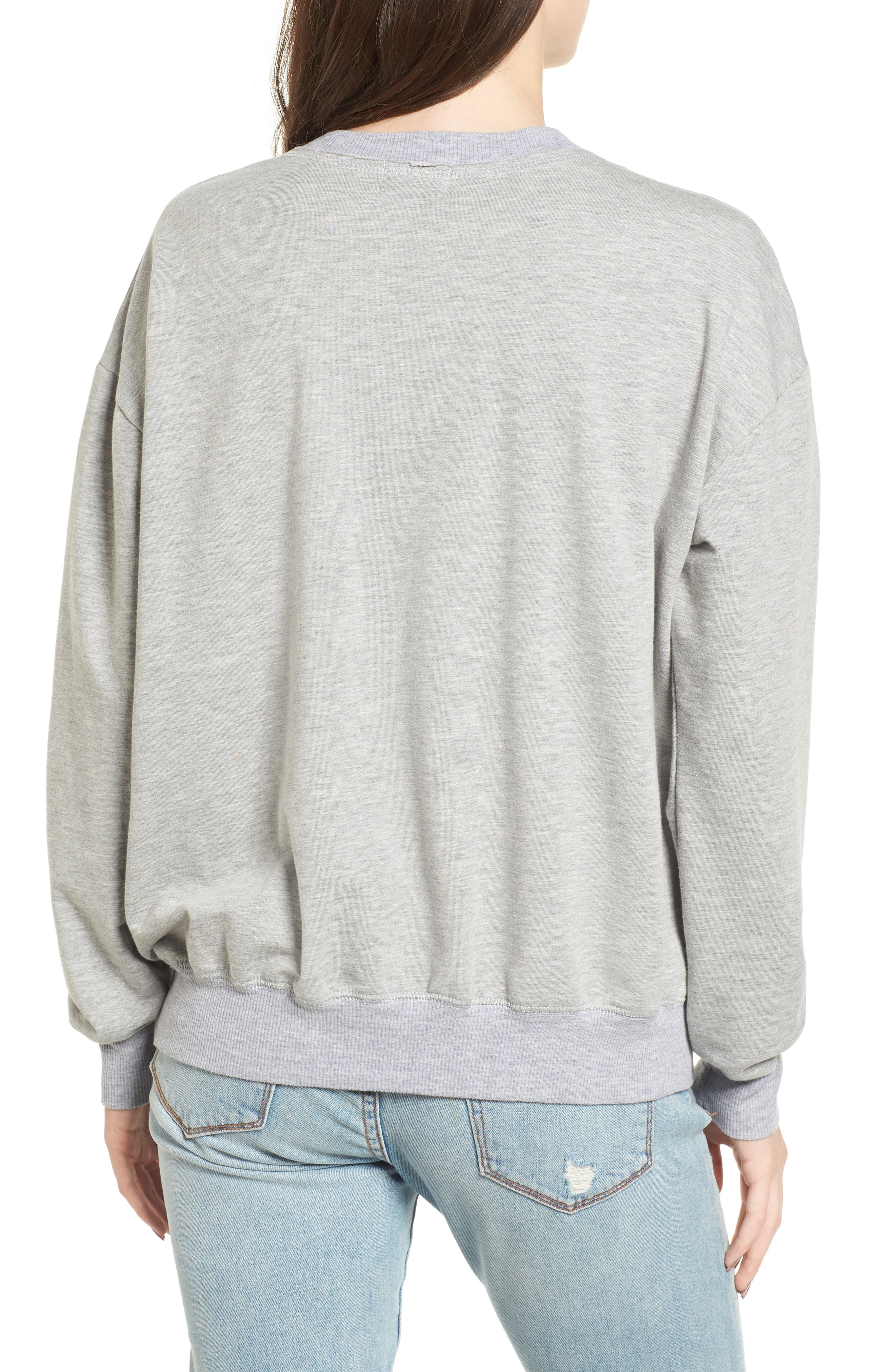 Infinity Knot Sweatshirt,                             Alternate thumbnail 2, color,                             052