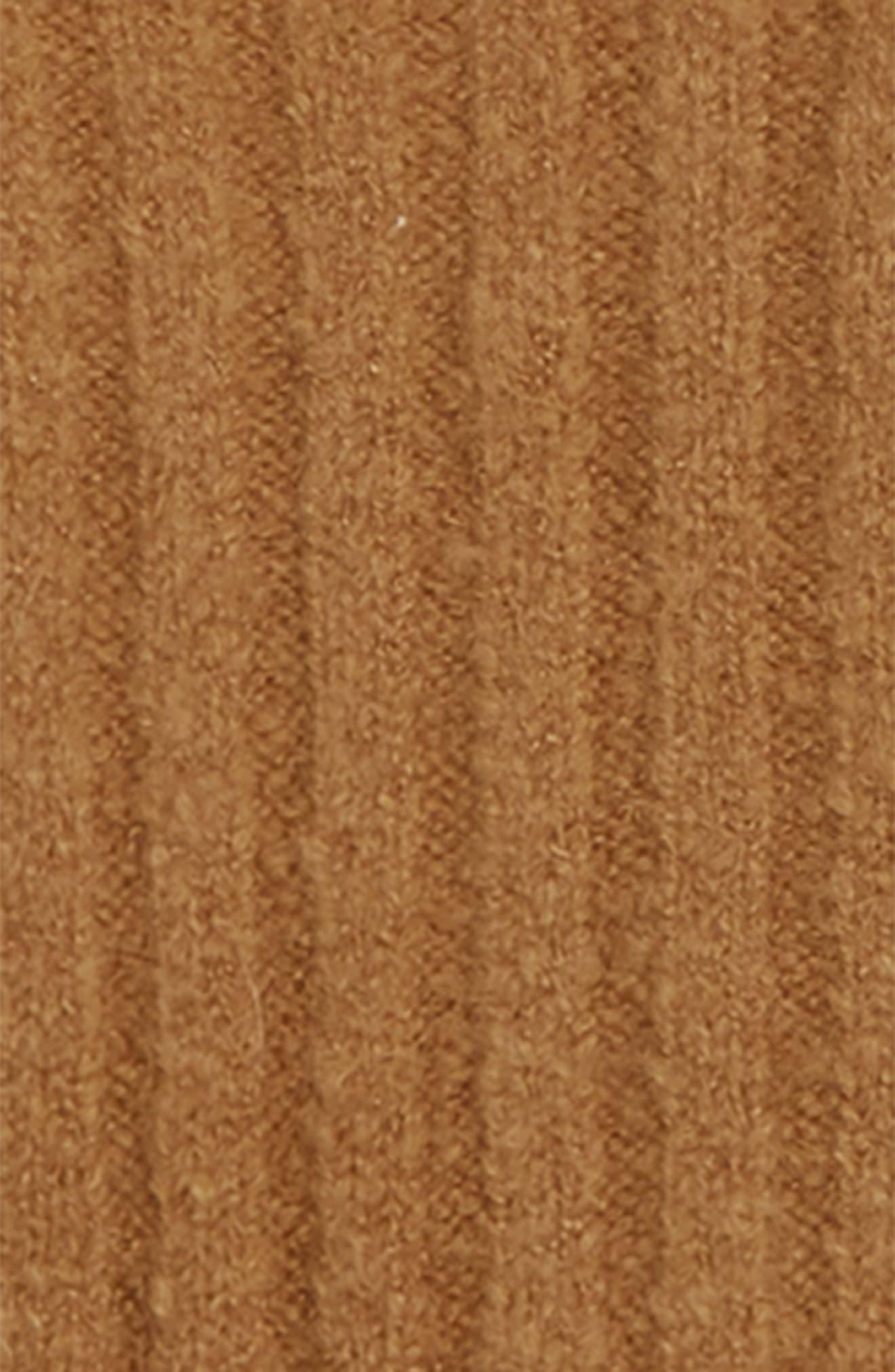 Crop Sweater,                             Alternate thumbnail 2, color,                             BROWN DIJON