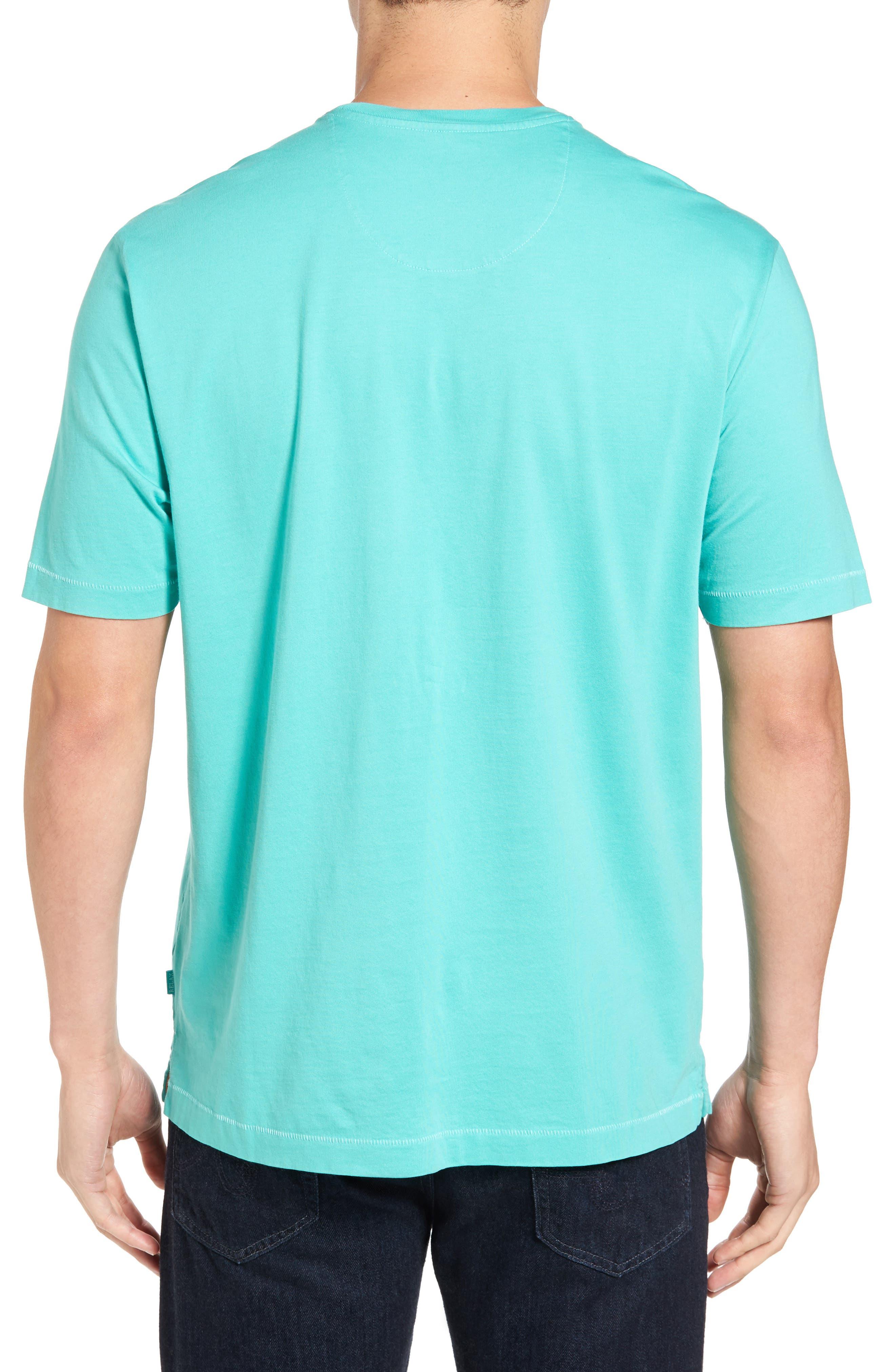 New Bali Sky Pima Cotton Pocket T-Shirt,                             Alternate thumbnail 68, color,