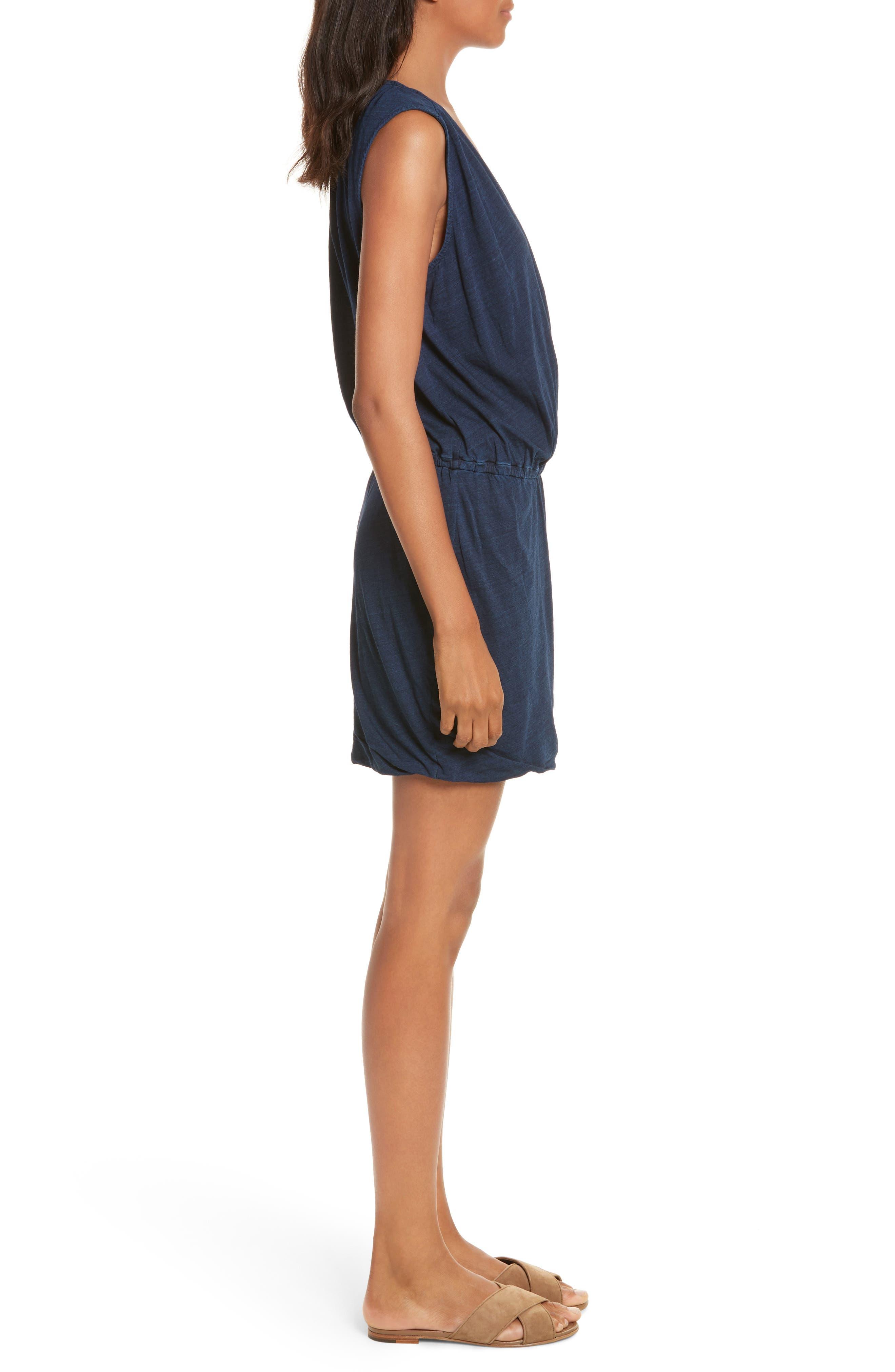 Faylen Blouson Knit Dress,                             Alternate thumbnail 3, color,                             487