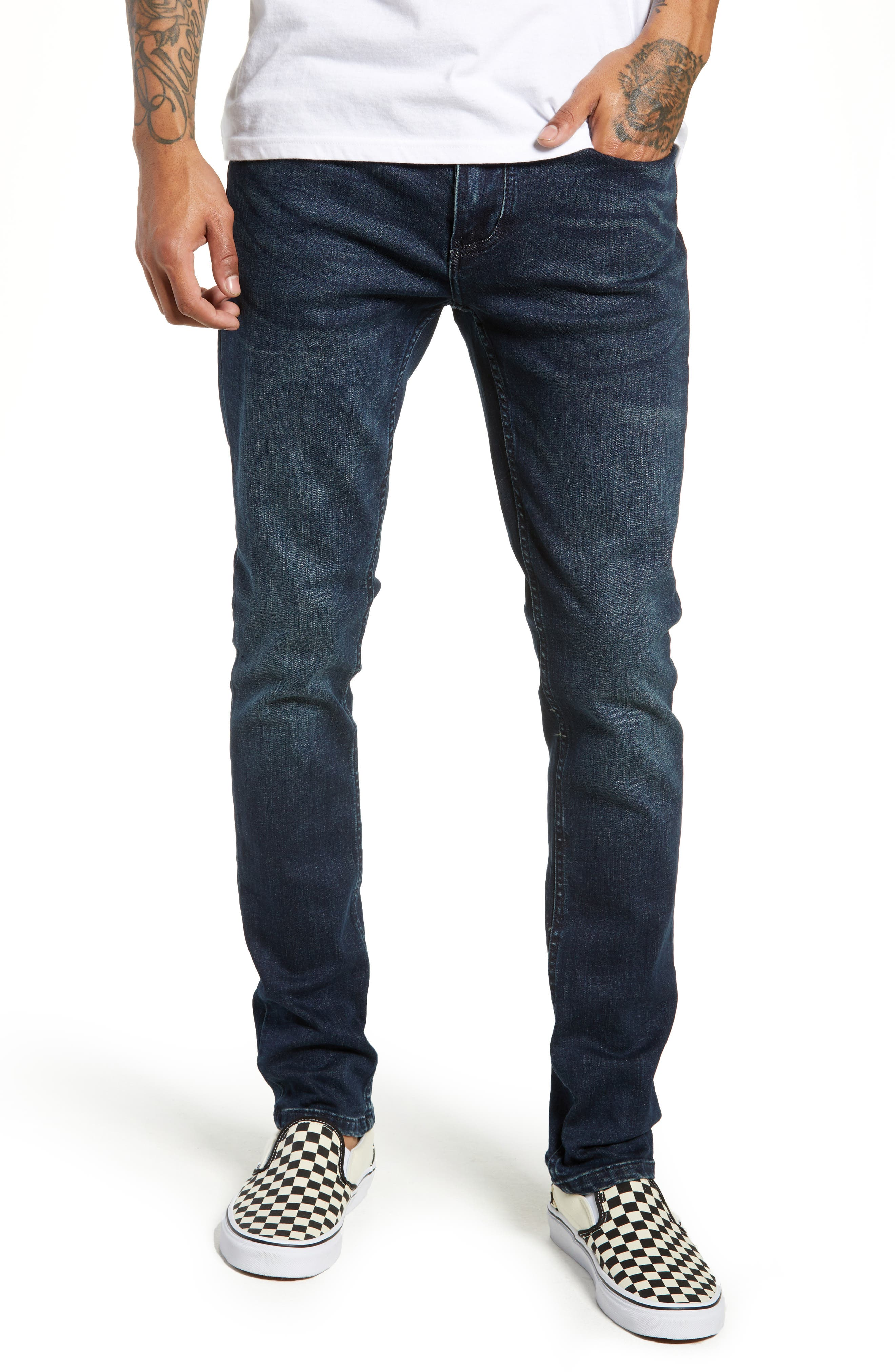 Horatio Skinny Fit Jeans,                             Main thumbnail 1, color,                             425