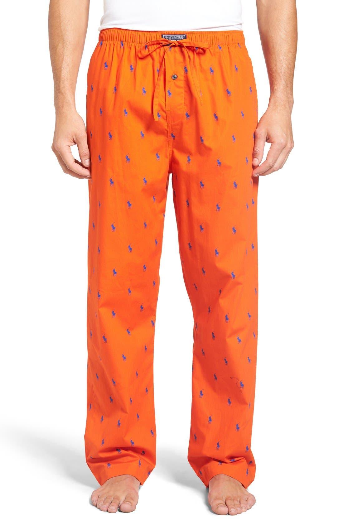 Cotton Lounge Pants,                             Main thumbnail 14, color,