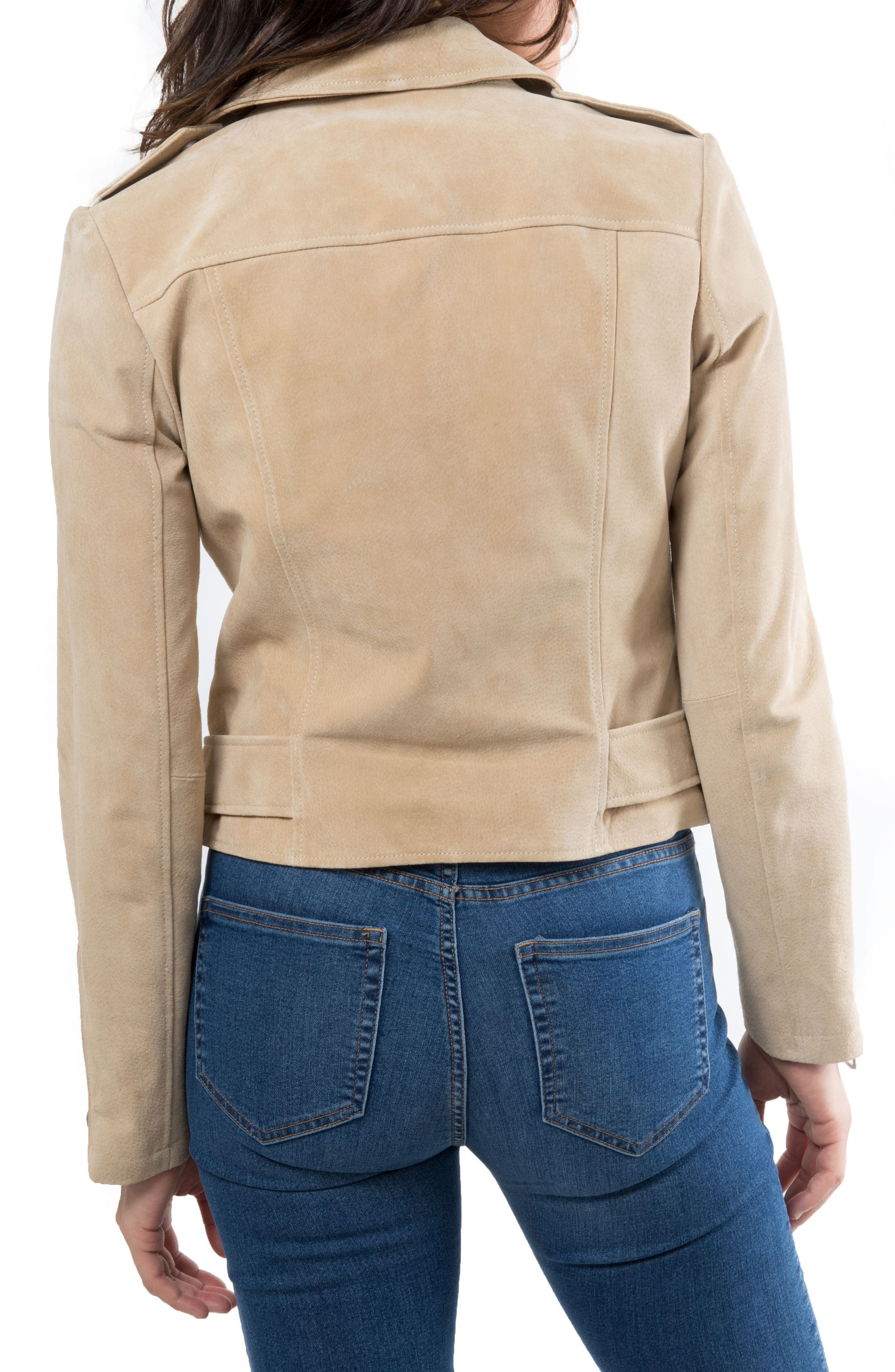 NYC  Suede Jacket,                             Alternate thumbnail 11, color,