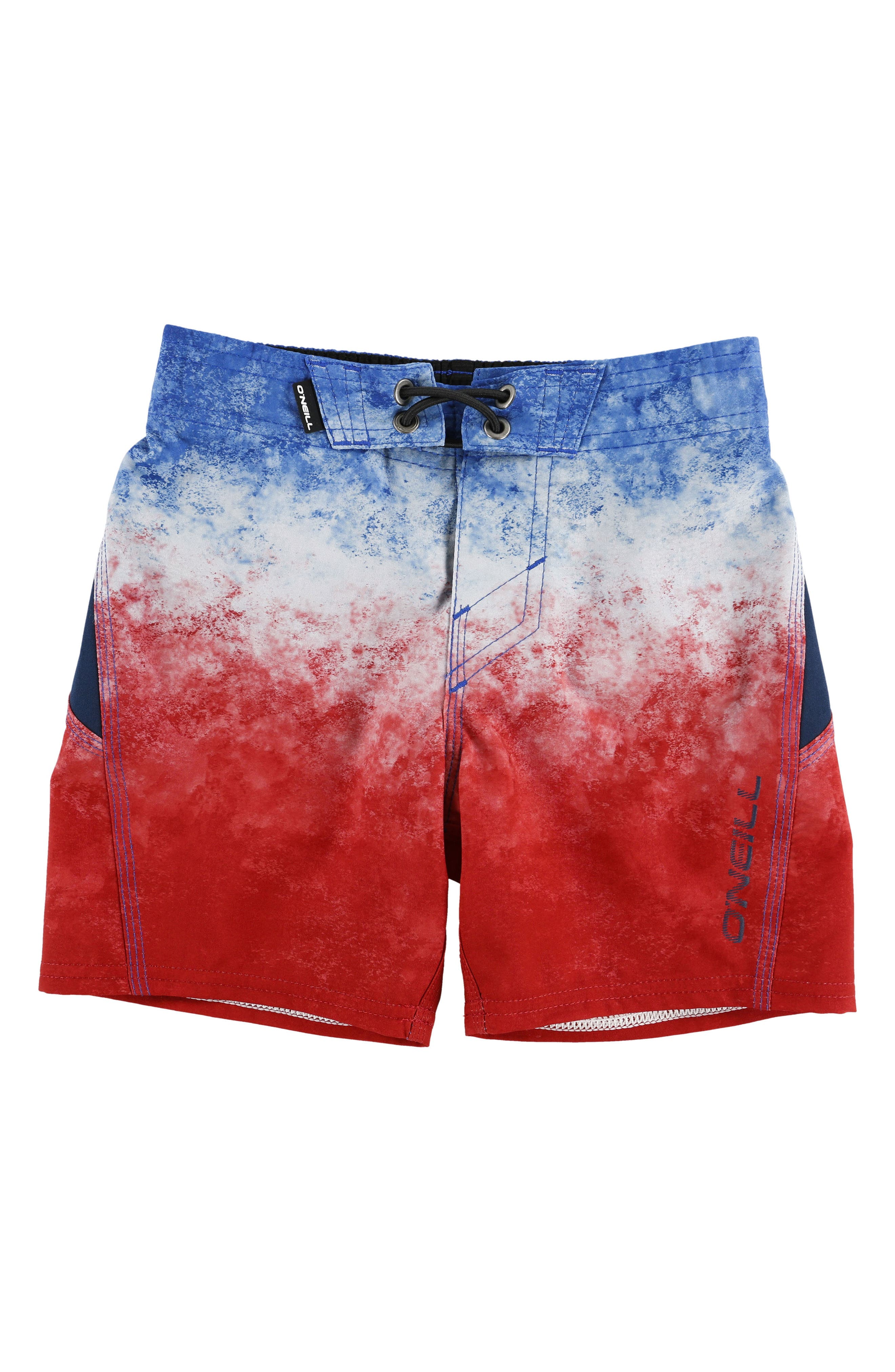 Sneakyfreak Surface Board Shorts,                             Main thumbnail 1, color,                             RED WHITE BLUE