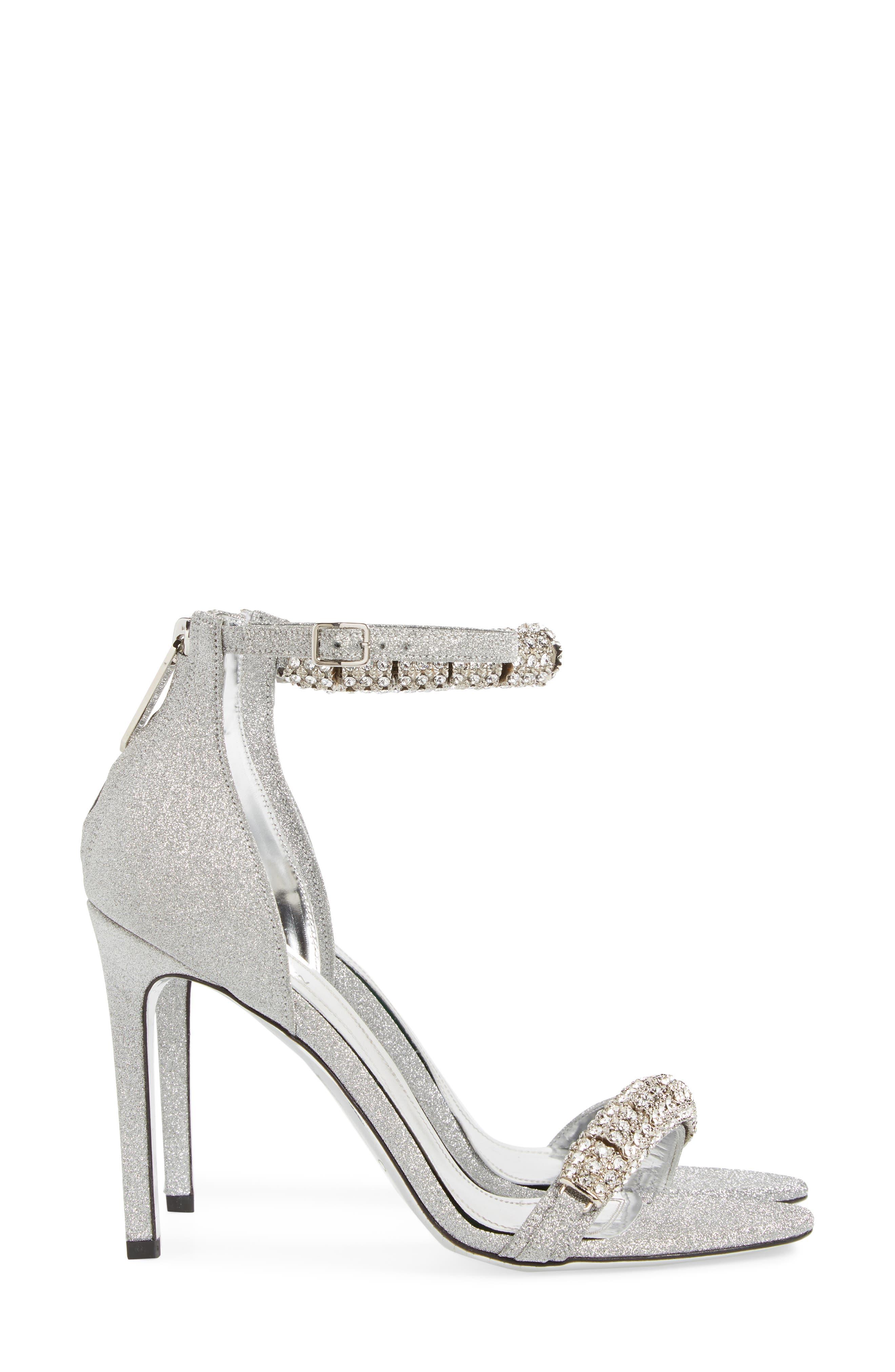 Camelle Jewel Embellished Sandal,                             Alternate thumbnail 3, color,                             043
