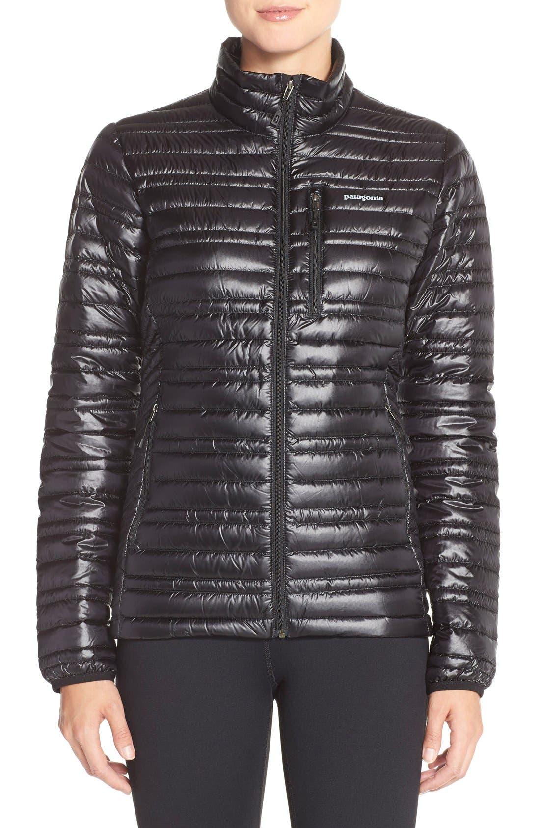 PATAGONIA,                             'Ultralight' Down Puffer Jacket,                             Main thumbnail 1, color,                             BLACK
