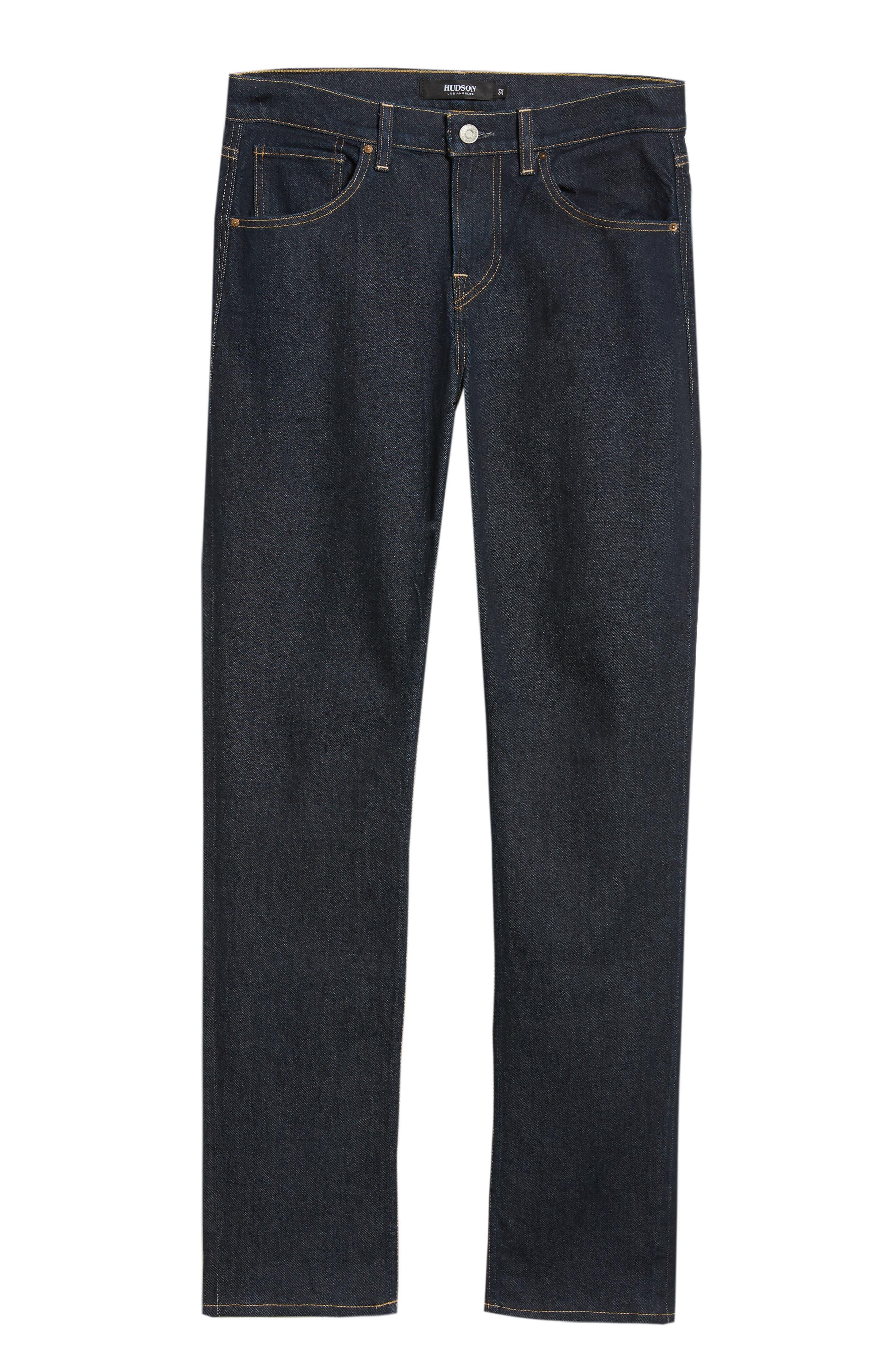 Blake Slim Fit Jeans,                             Alternate thumbnail 6, color,                             DUARTE