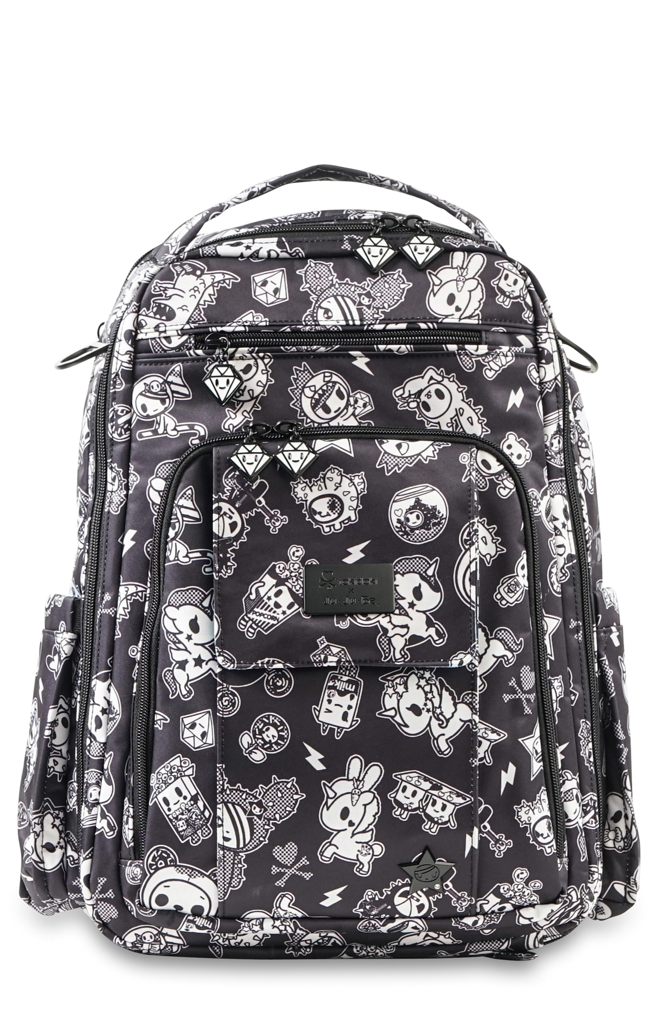 Infant Tokidoki X JuJuBe Be Right Back Diaper Backpack  Black