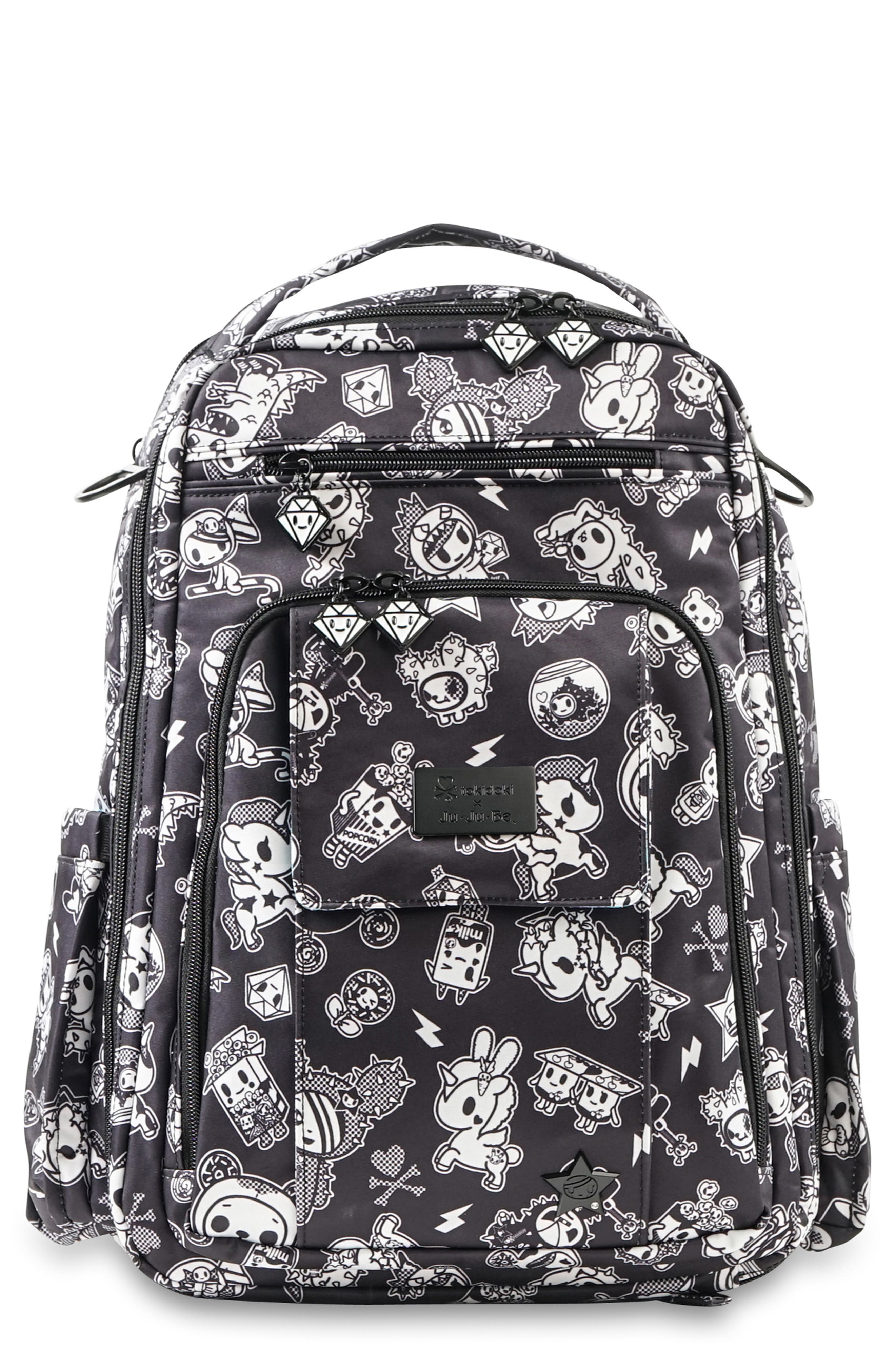 tokidoki x Ju-Ju-Be 'Be Right Back' Diaper Backpack,                         Main,                         color, 009