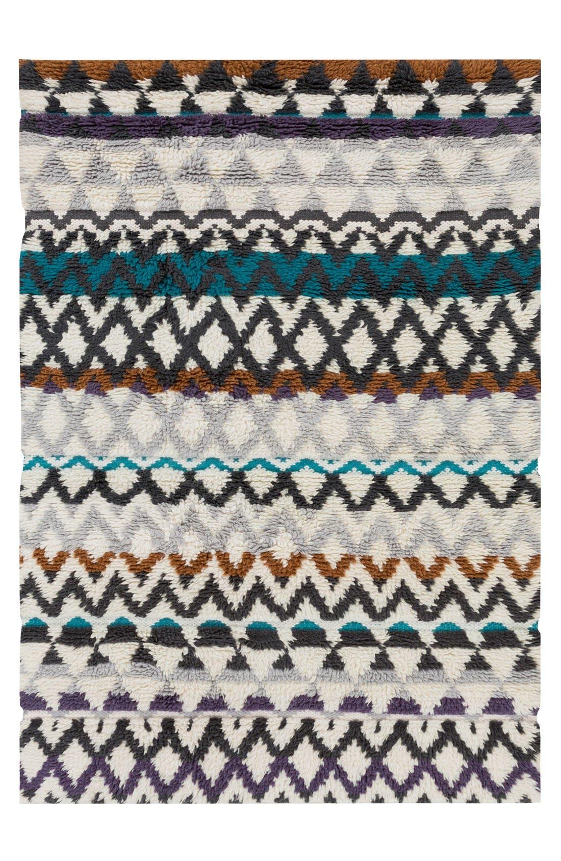 'Atticus' Hand Woven Wool Rug,                             Main thumbnail 1, color,