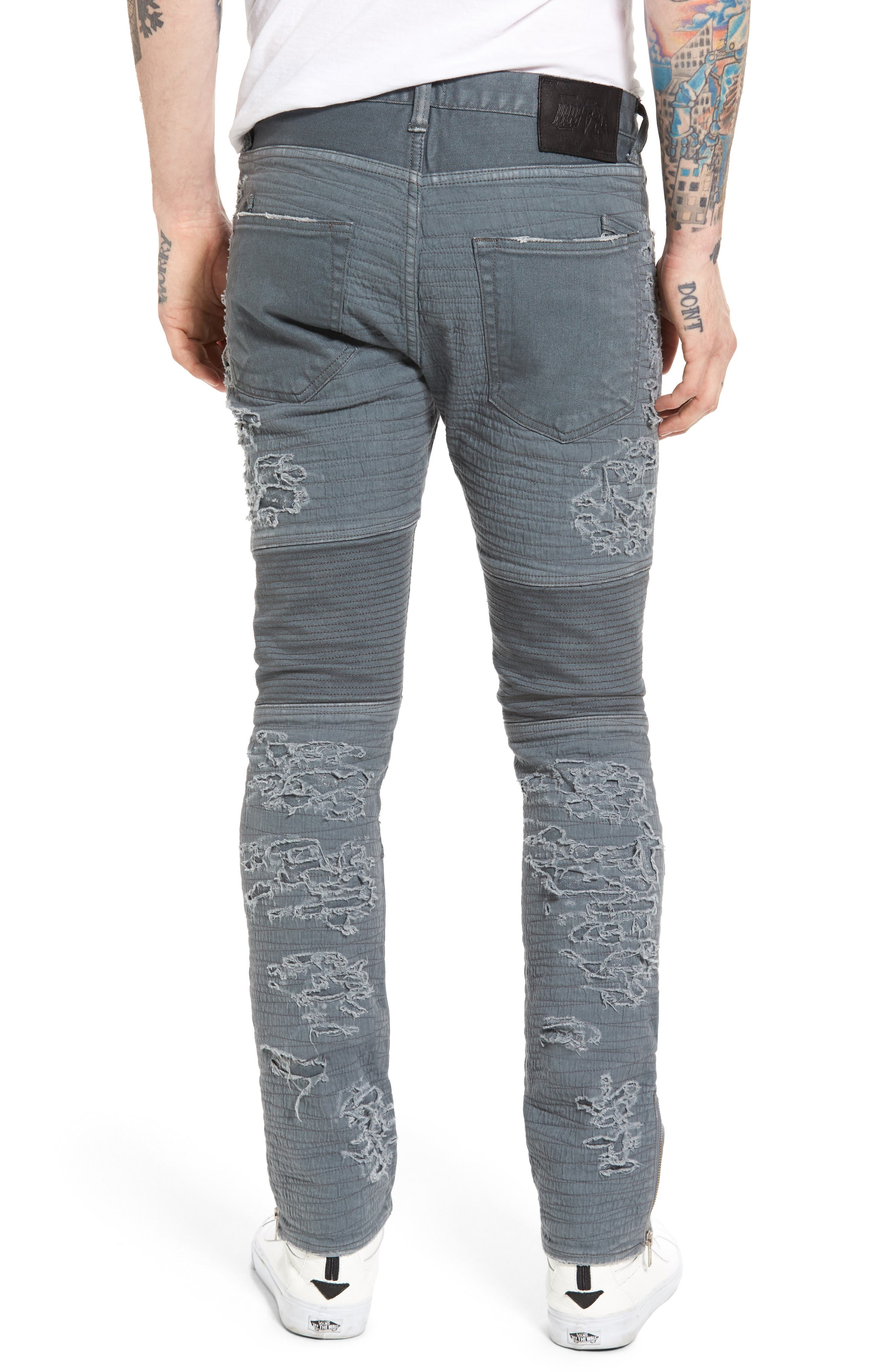Windsor Slim Fit Jeans,                             Alternate thumbnail 2, color,                             DARK GREY