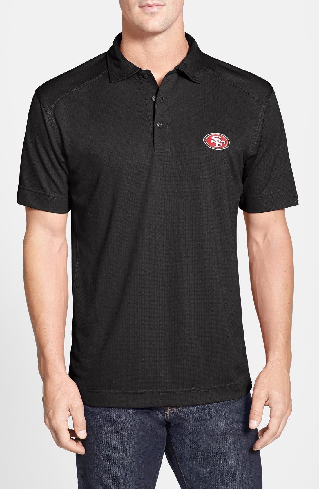 San Francisco 49ers - Genre DryTec Moisture Wicking Polo,                             Main thumbnail 1, color,                             001