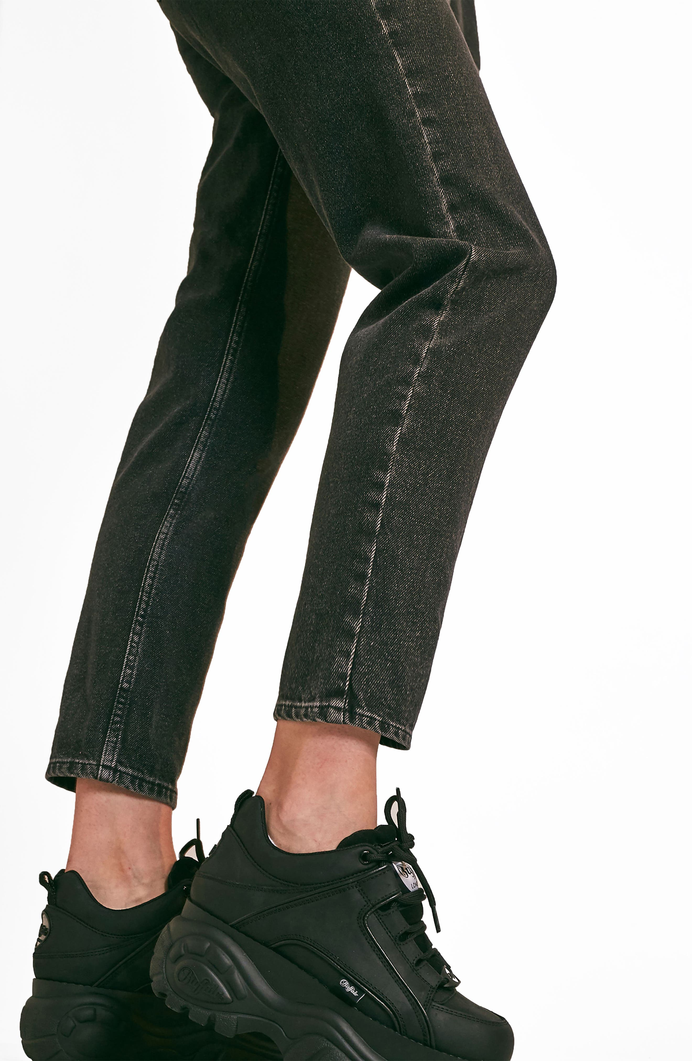 BDG,                             Urban Outfitters Mom Jeans,                             Alternate thumbnail 11, color,                             CARBON