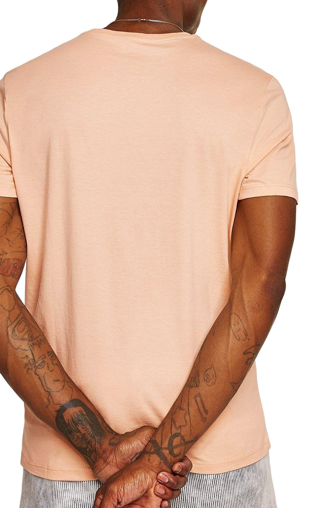Slim Fit Crewneck T-Shirt,                             Alternate thumbnail 128, color,