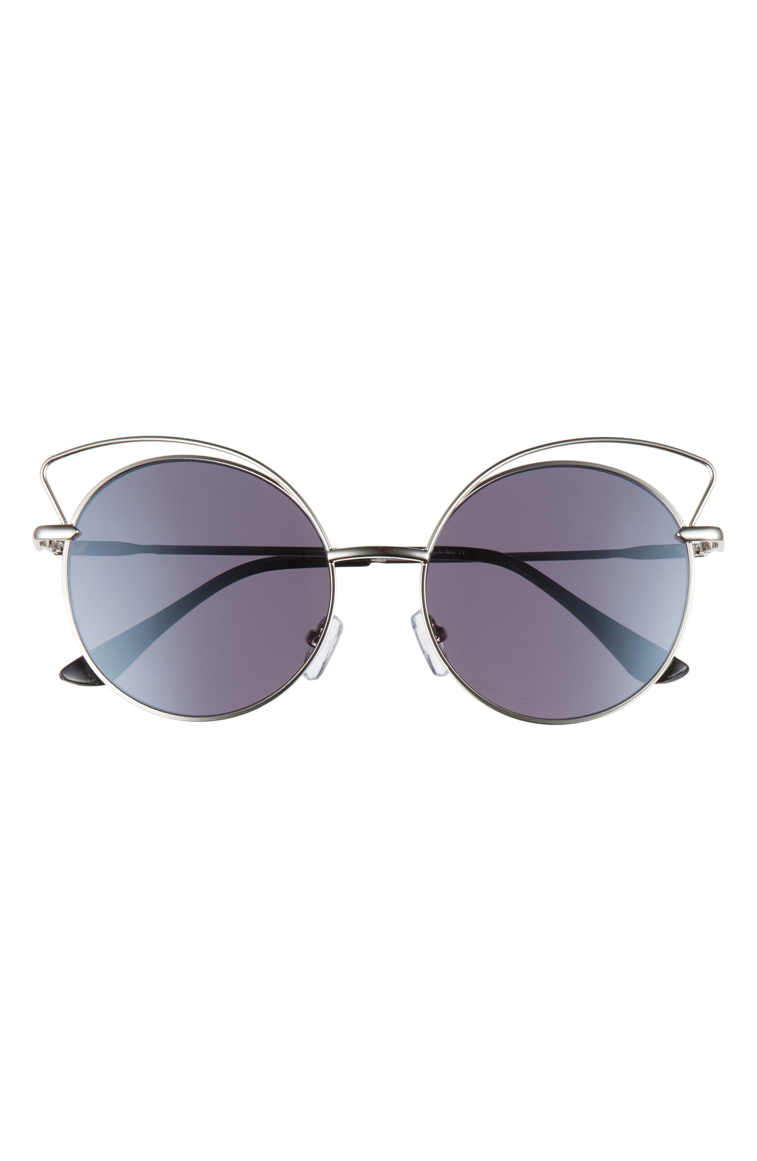Satellite 55mm Round Sunglasses,                             Alternate thumbnail 3, color,                             040