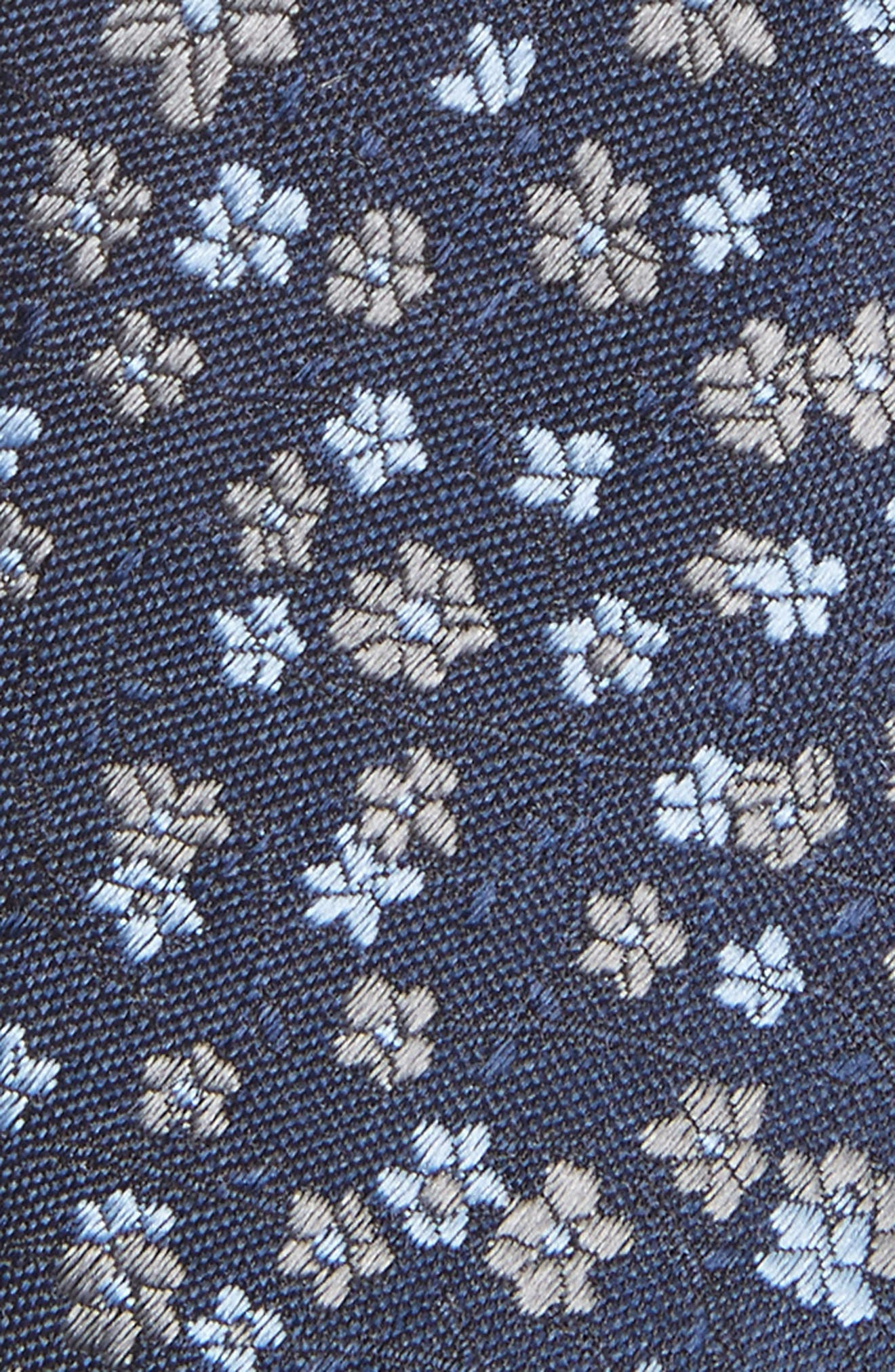 Freefall Floral Silk Tie,                             Alternate thumbnail 12, color,