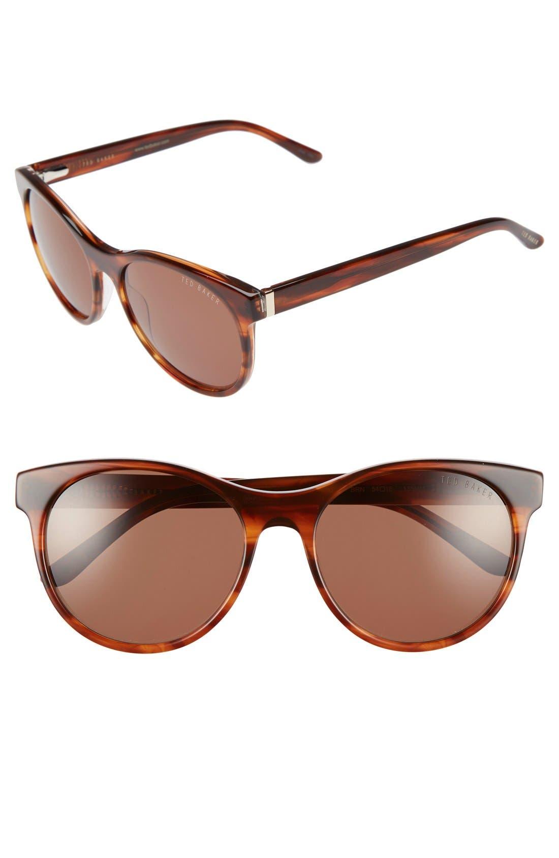 54mm Retro Sunglasses,                             Main thumbnail 4, color,