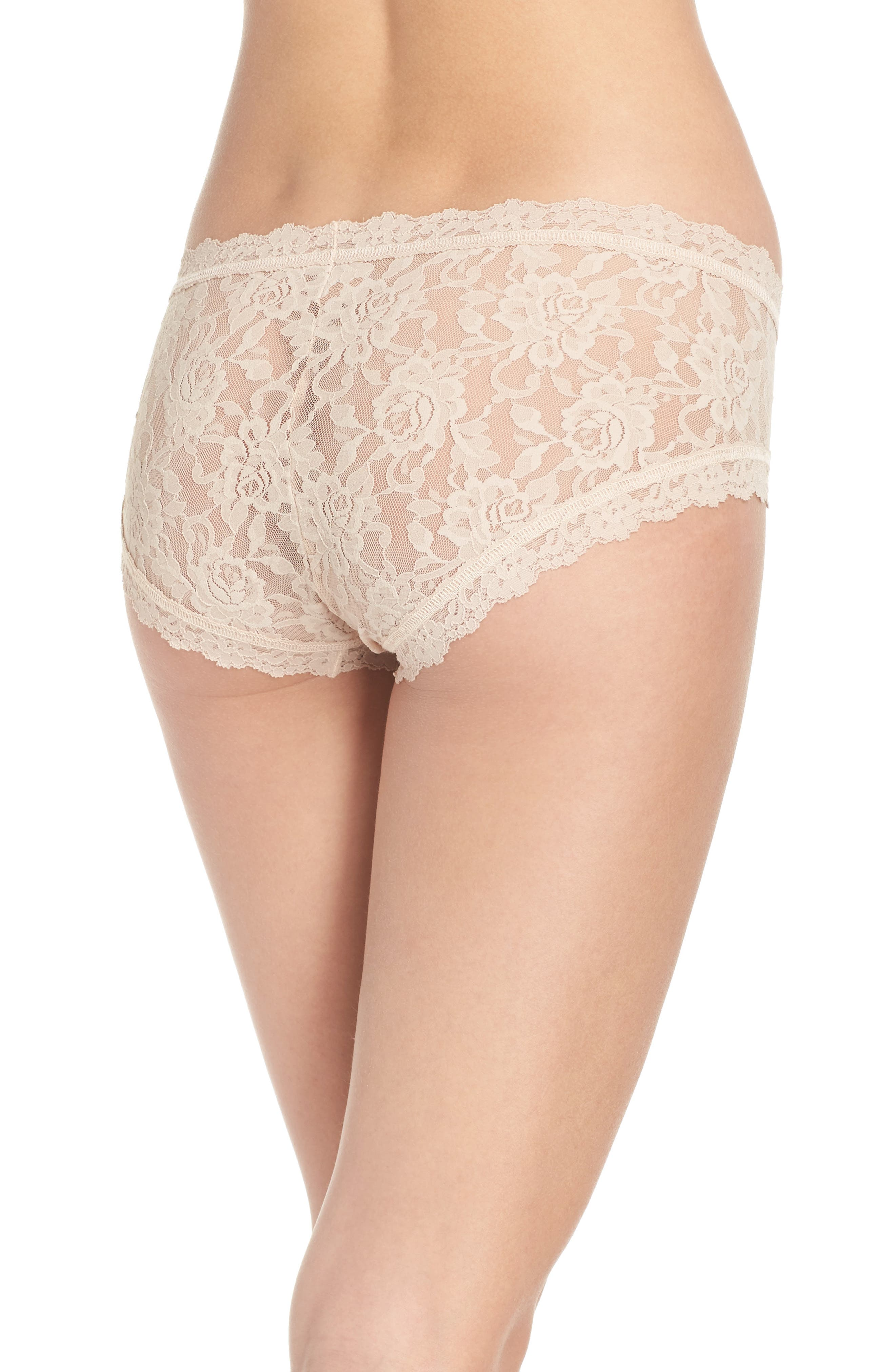 Floral Stretch Lace Girlkini,                             Alternate thumbnail 5, color,