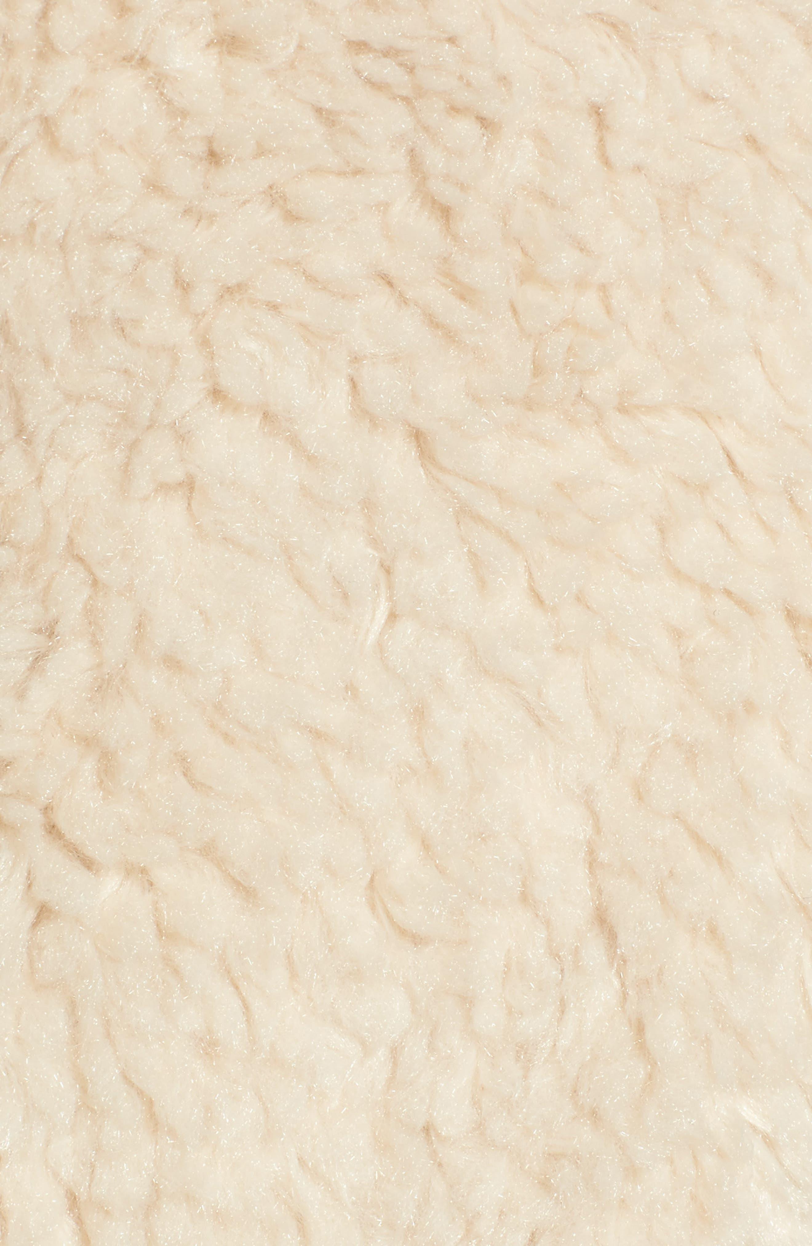 Cozy Faux Shearling Vest,                             Alternate thumbnail 6, color,