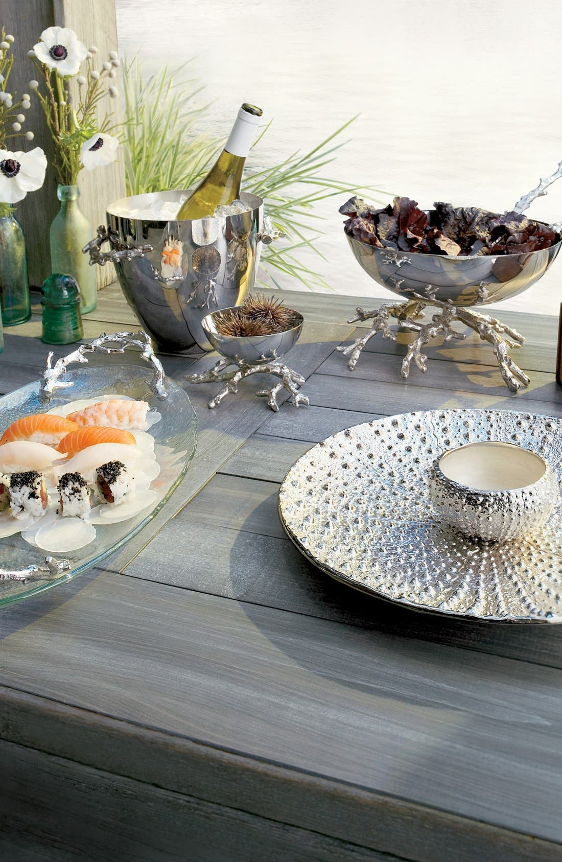 'Ocean Sea Urchin' Platter,                             Alternate thumbnail 2, color,