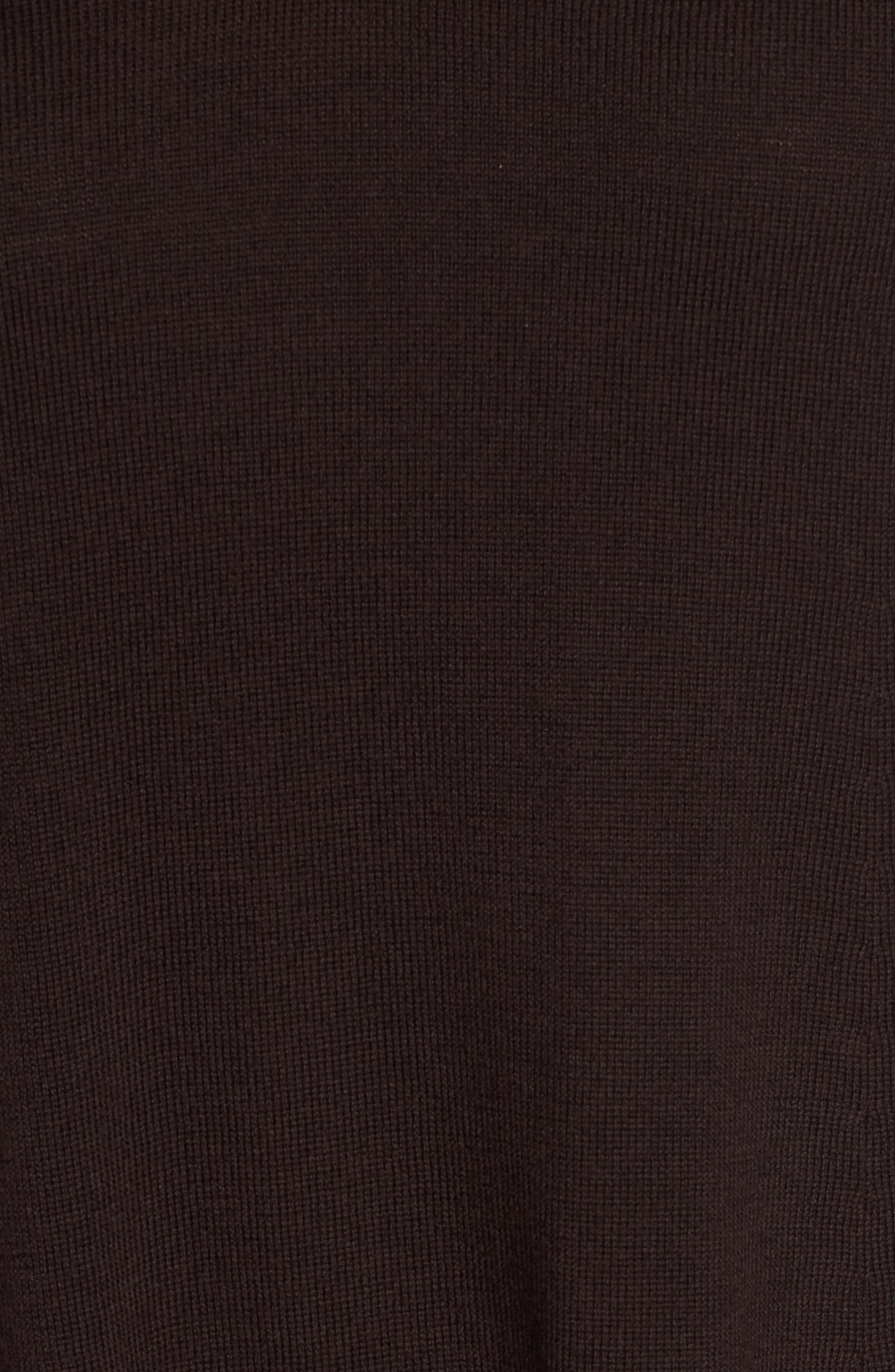 Lightweight Merino Jersey V-Neck Tunic,                             Alternate thumbnail 84, color,