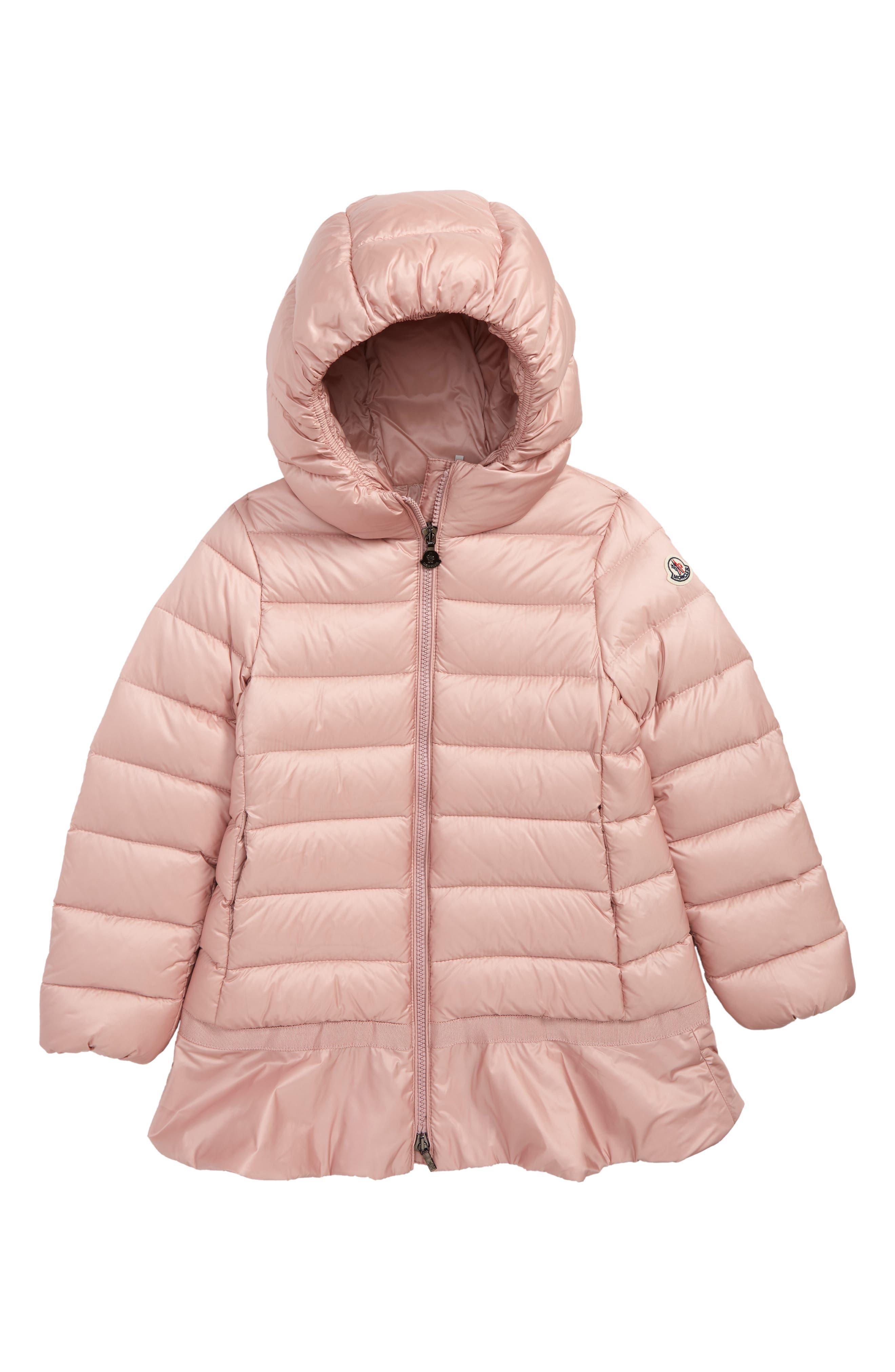 Nadra Hooded Down Jacket,                         Main,                         color, LIGHT PINK