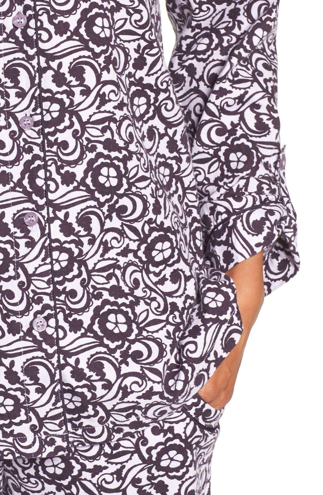 Cotton Twill Pajamas,                             Alternate thumbnail 42, color,