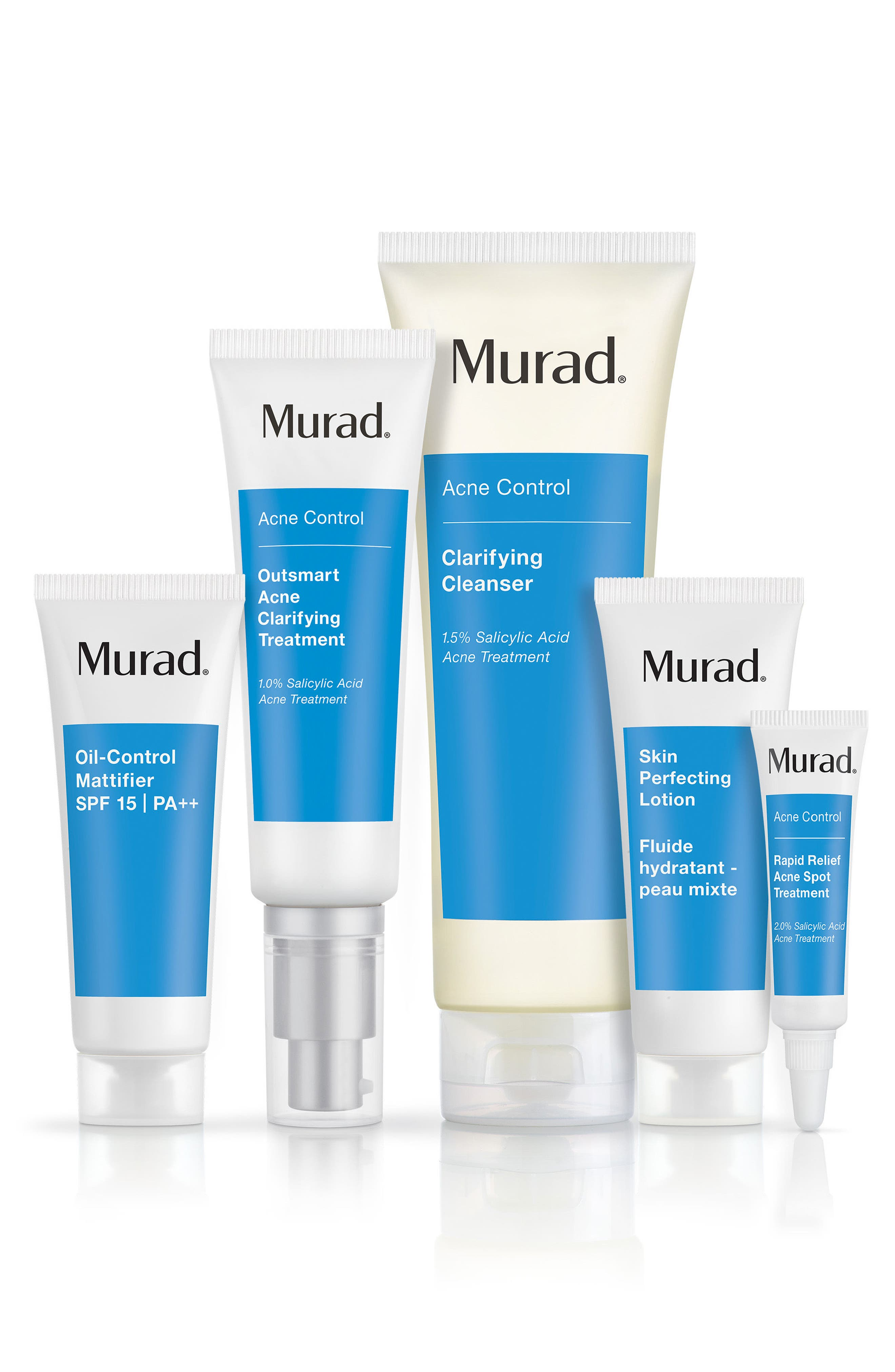 Clear Control 60-Day Acne Kit, Main, color, NO COLOR