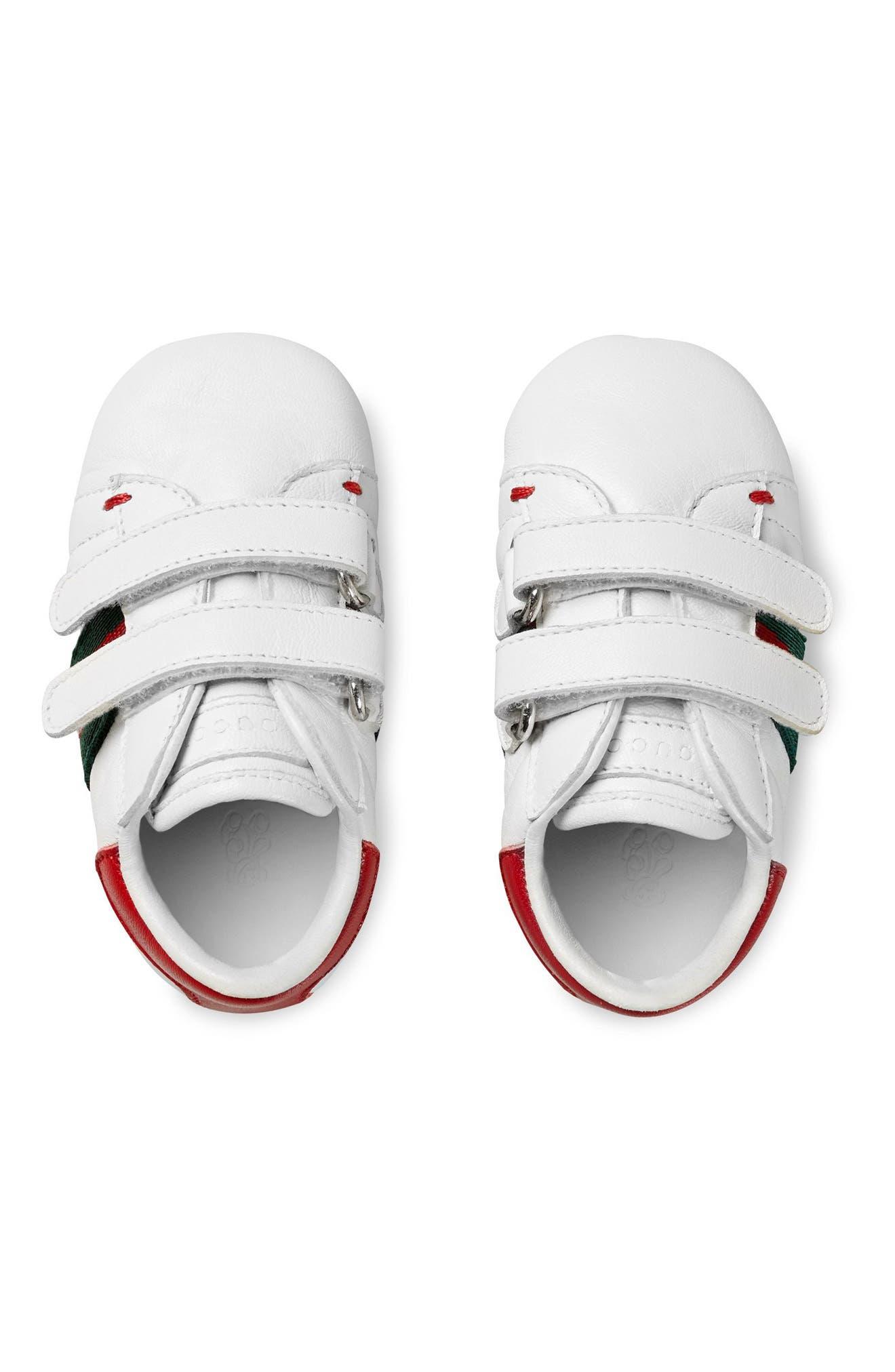 'Ace' Crib Shoe,                             Alternate thumbnail 3, color,                             100