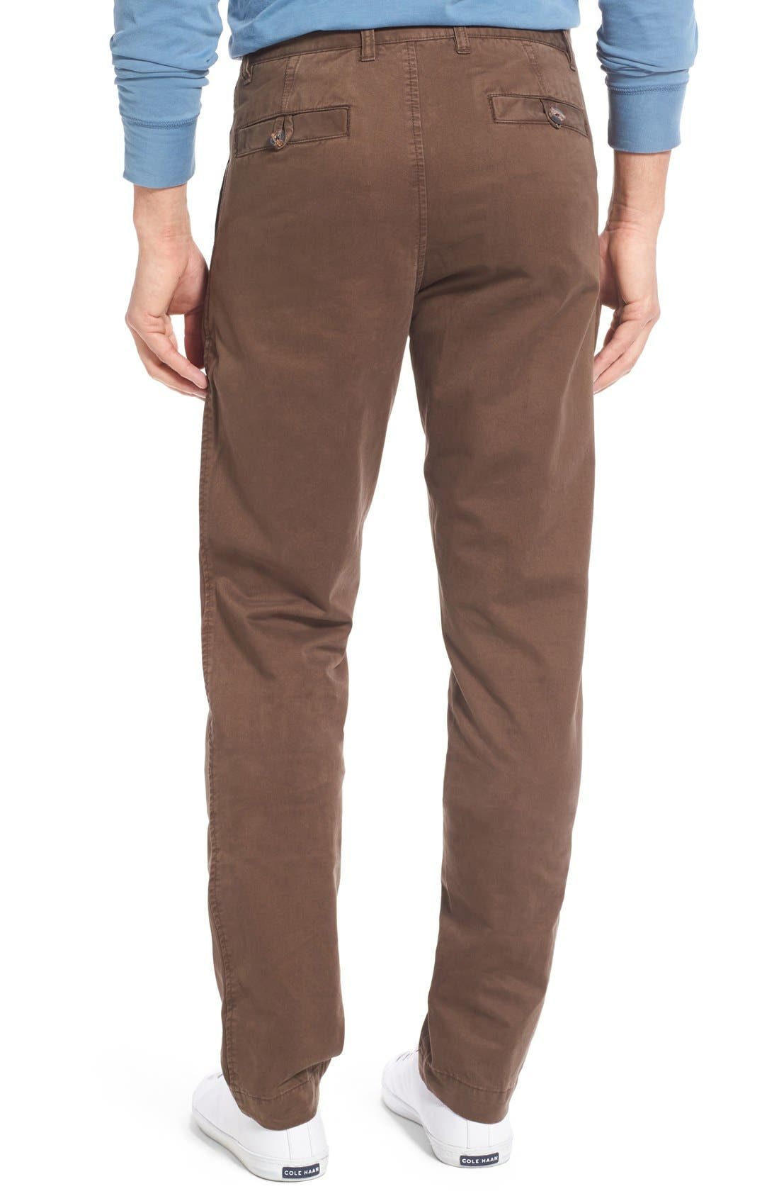 'Sahara' Trim Fit Vintage Washed Twill Chinos,                             Alternate thumbnail 16, color,