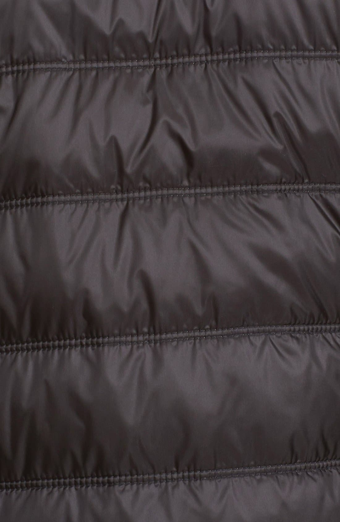 Halewood Quilted Down Jacket,                             Alternate thumbnail 7, color,                             001