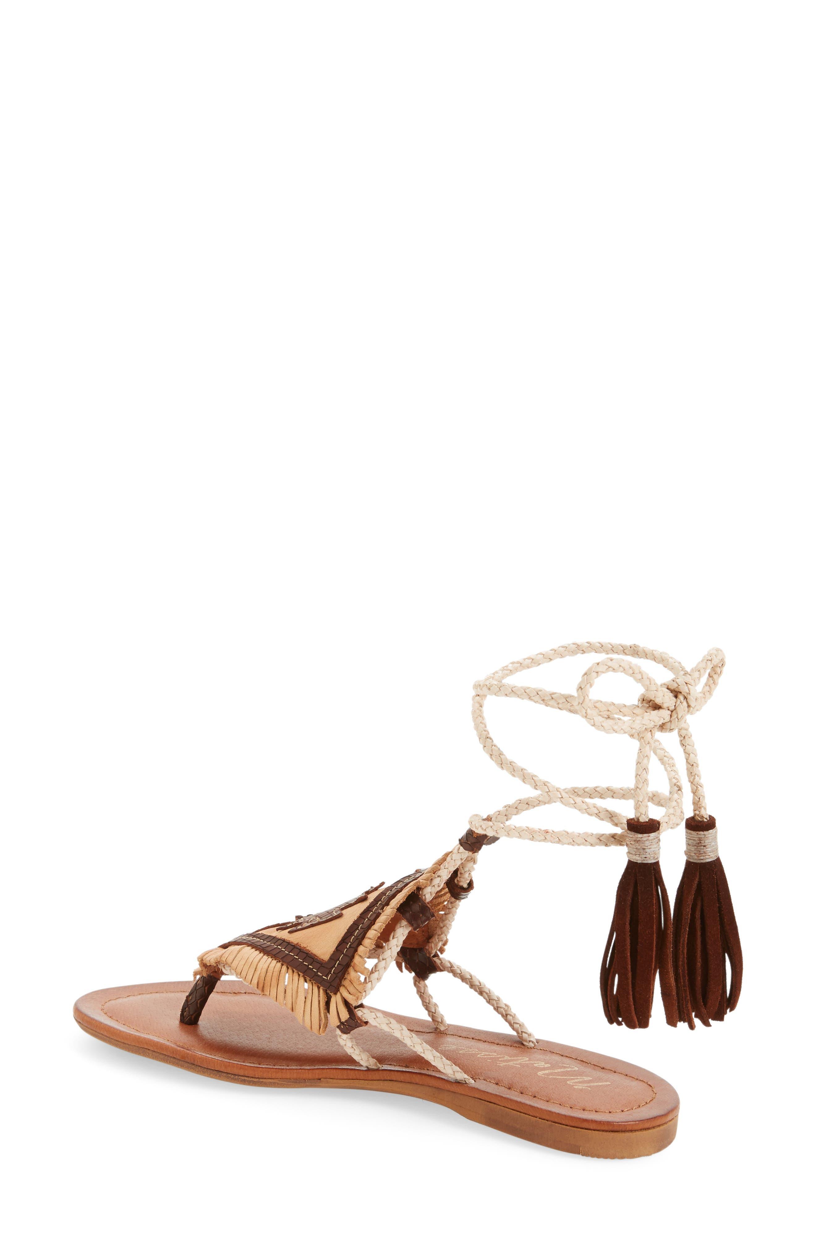 Bronte Tassel Lace-Up Sandal,                             Alternate thumbnail 2, color,                             250