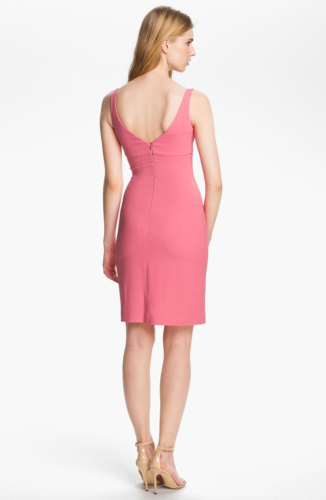L'AGENCE,                             Fitted Tank Dress,                             Alternate thumbnail 2, color,                             650