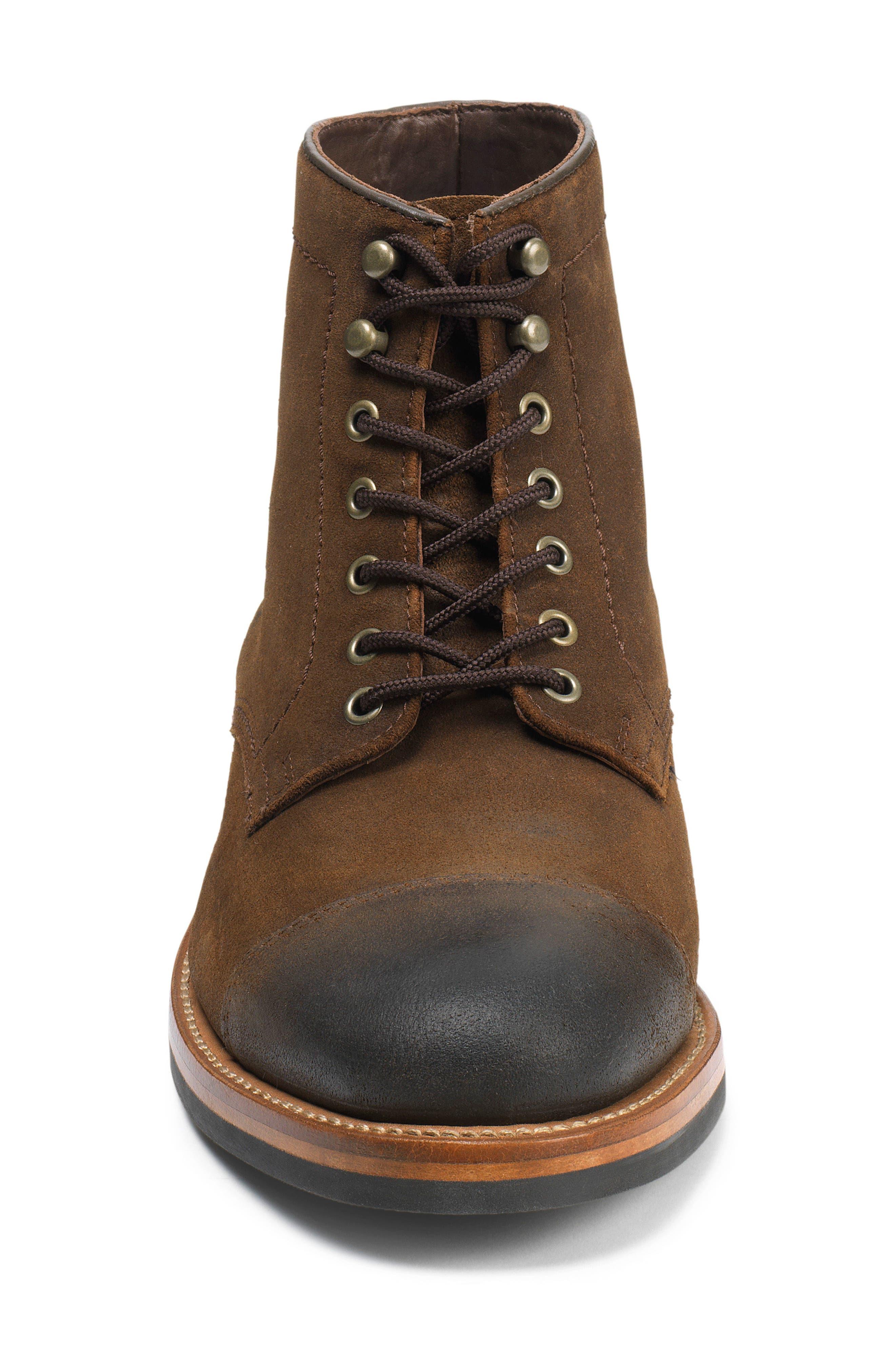 Ike Plain Toe Boot,                             Alternate thumbnail 3, color,                             200