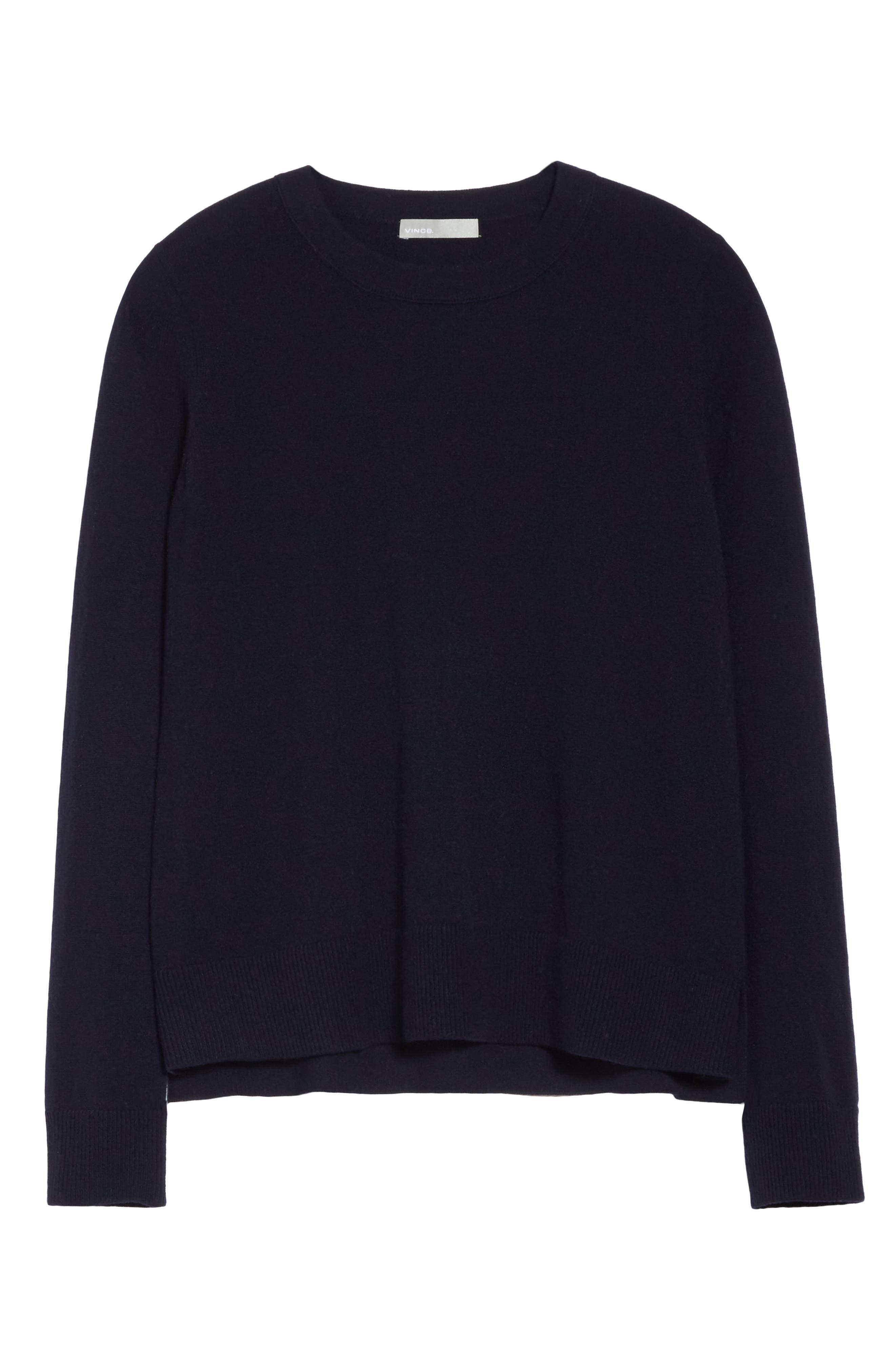Cashmere Sweater,                             Alternate thumbnail 17, color,