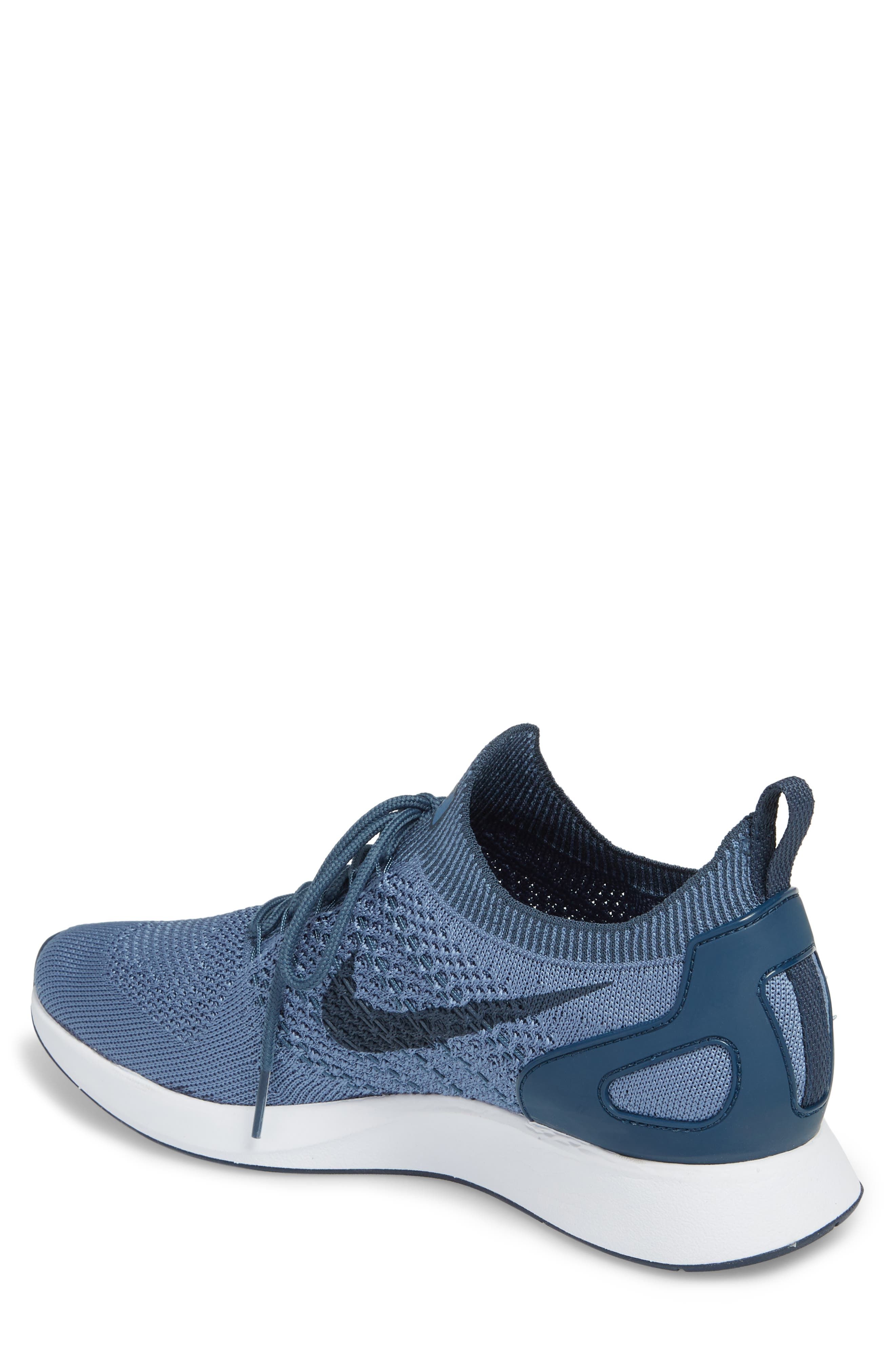 Air Zoom Mariah Flyknit Racer Sneaker,                             Alternate thumbnail 2, color,                             OCEAN FOG/ BLUE/ WHITE