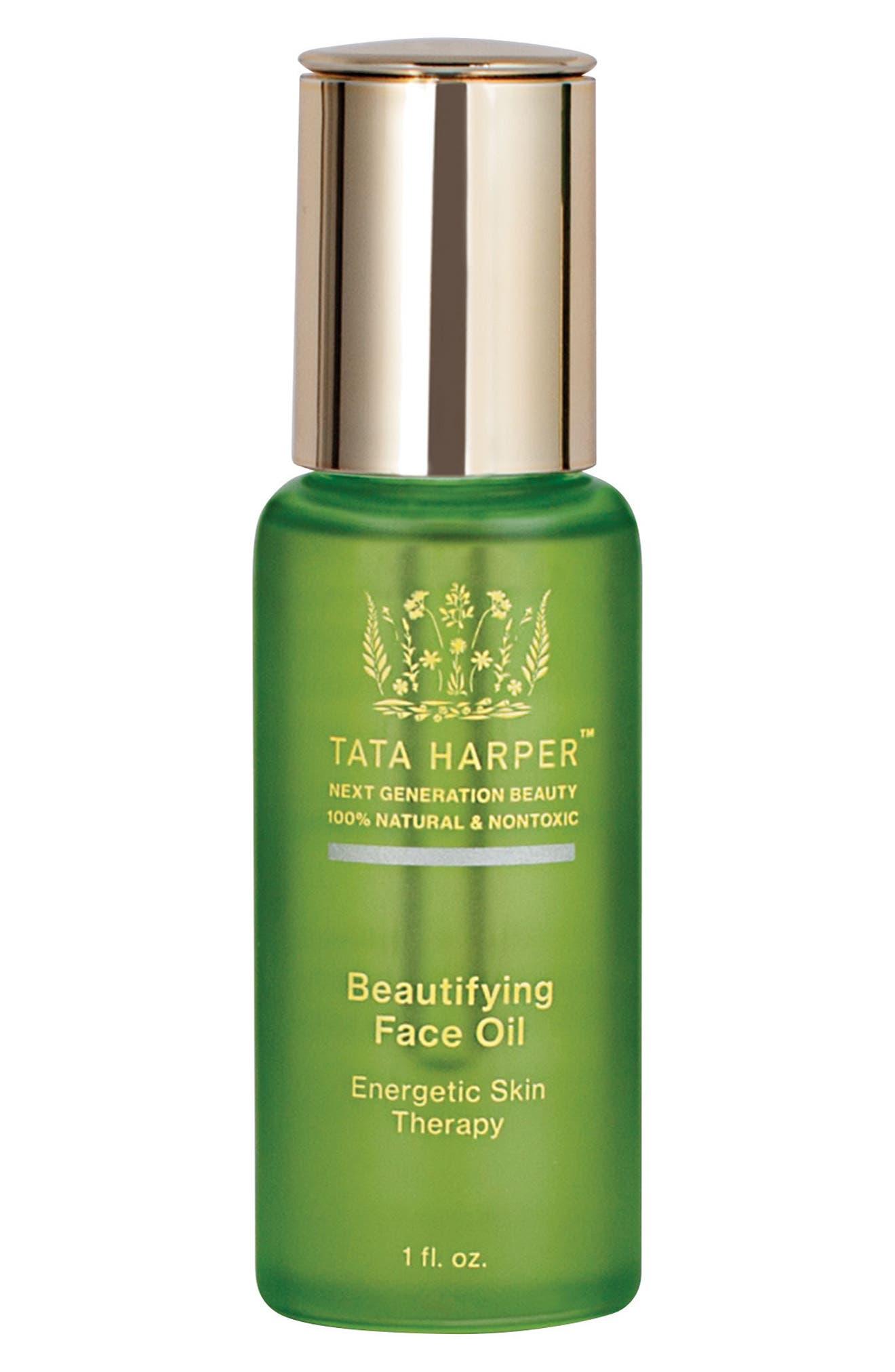 Beautifying Face Oil,                             Main thumbnail 1, color,                             NO COLOR